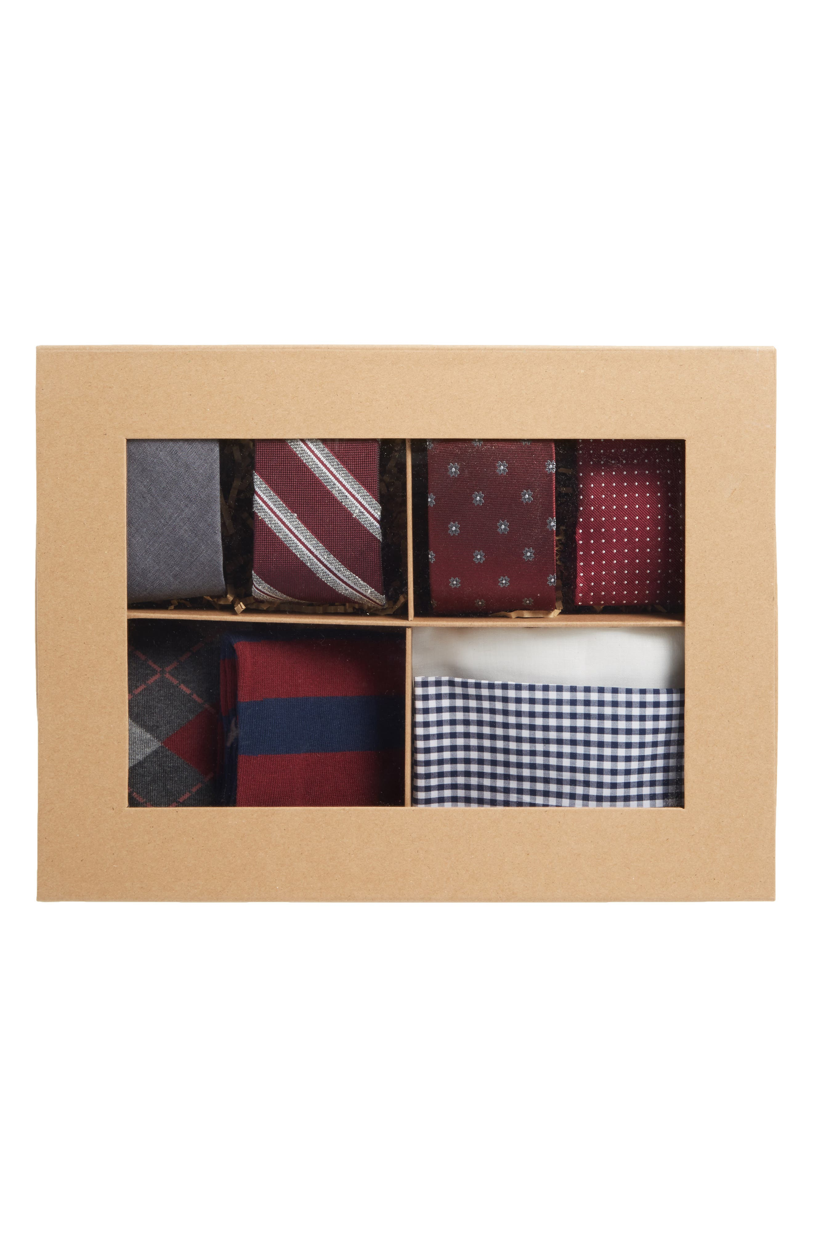 Alternate Image 2  - The Tie Bar Large Burgundy Style Box
