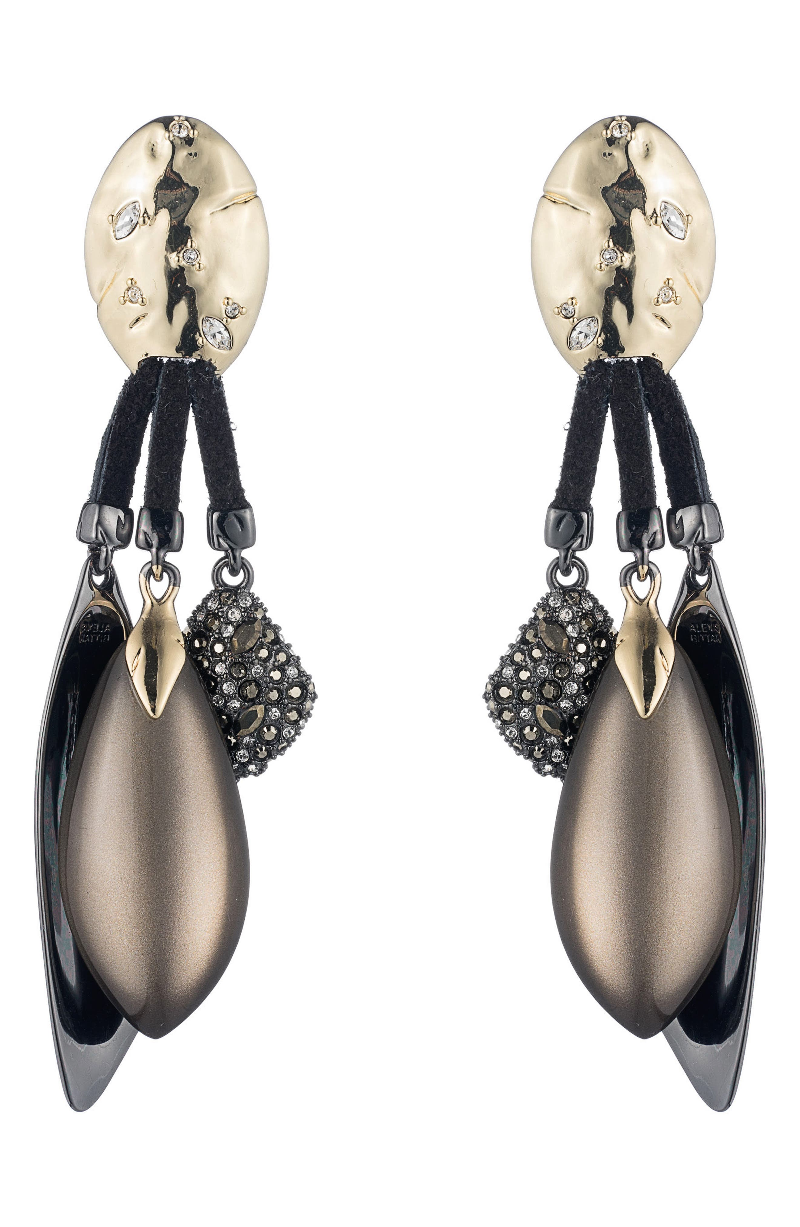 Alternate Image 1 Selected - Alexis Bittar Rocky Clip-On Drop Earrings