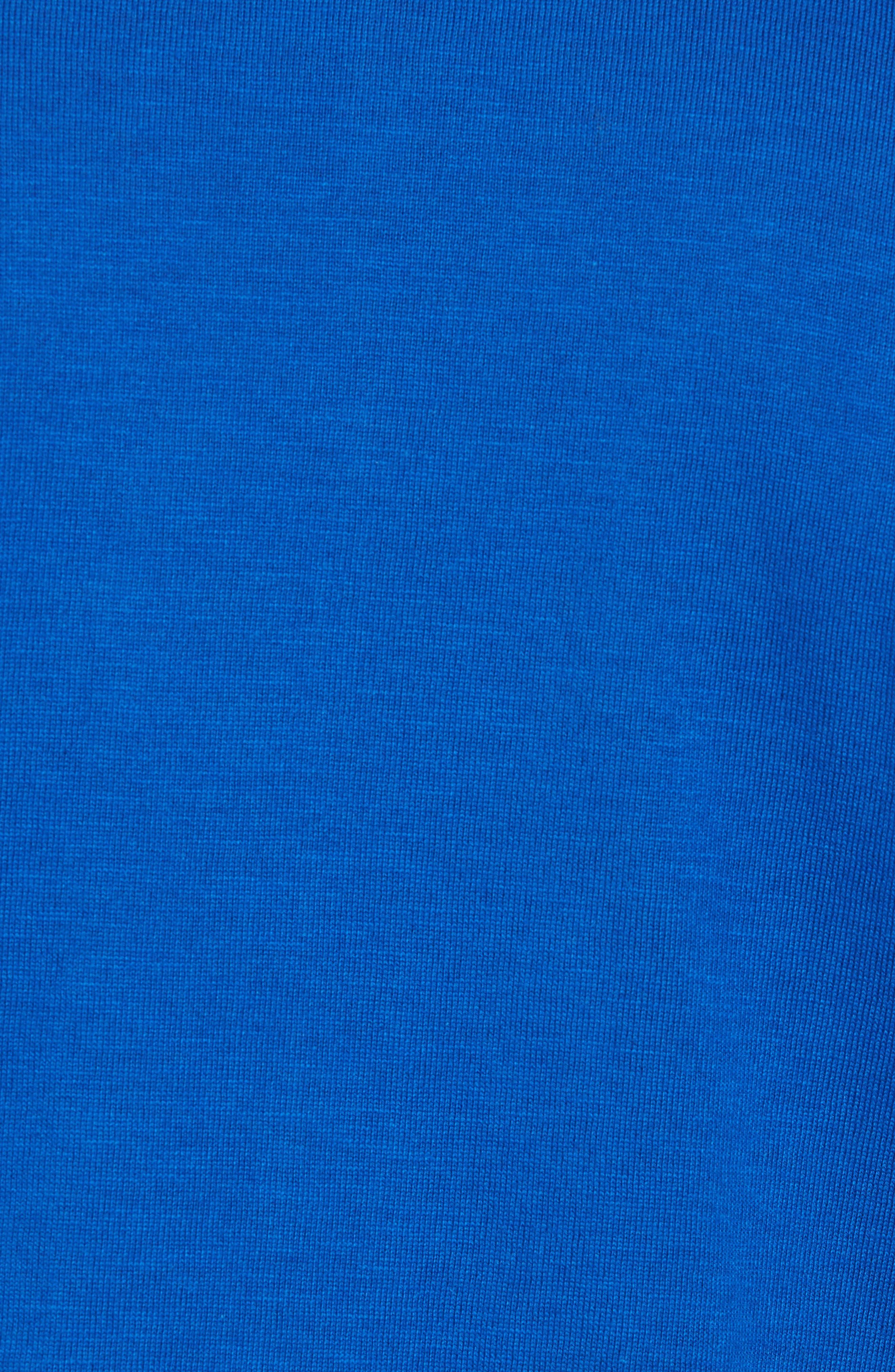 Mouline T-Shirt,                             Alternate thumbnail 5, color,                             Qzp Royal/ Multico