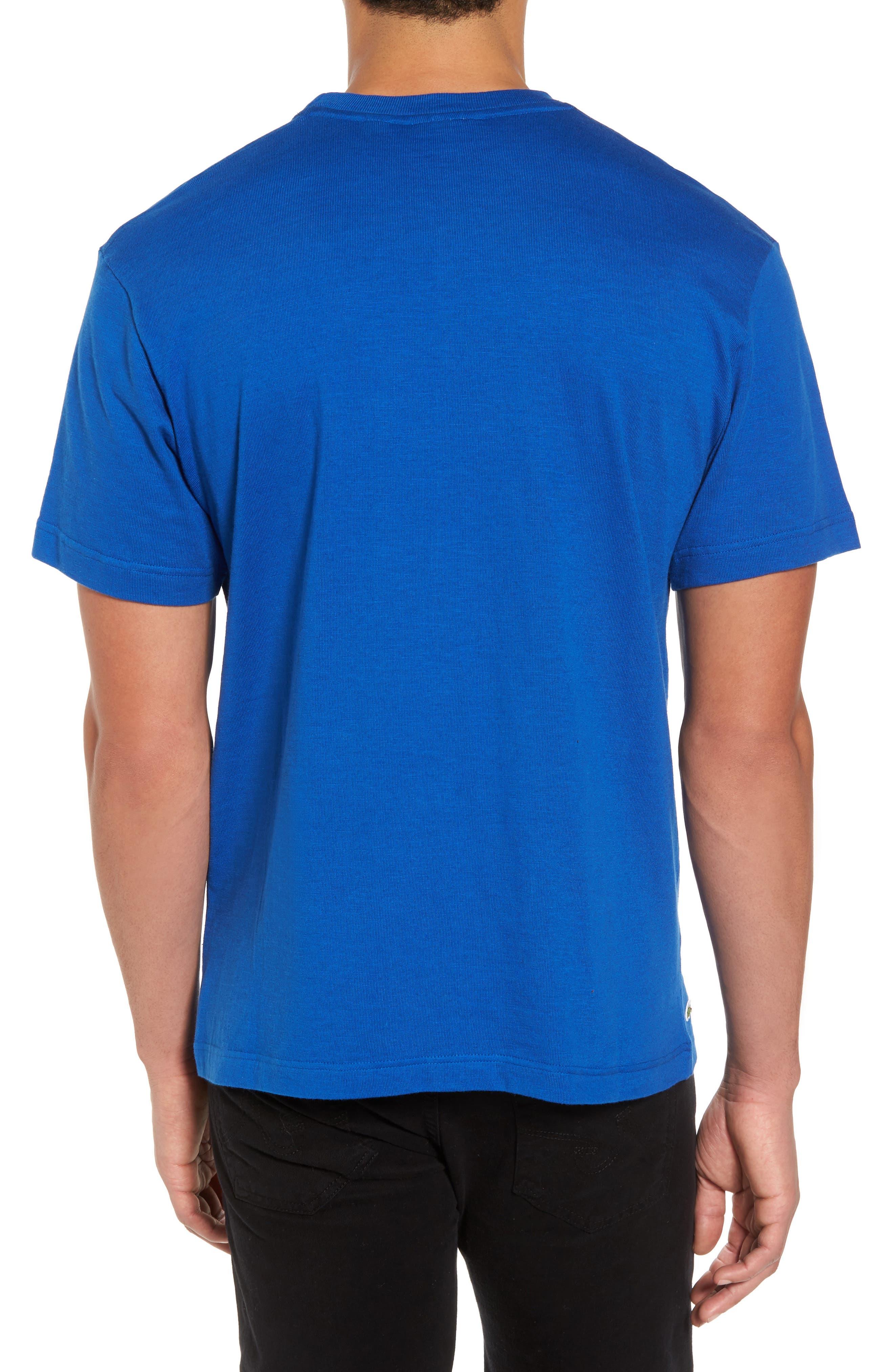 Mouline T-Shirt,                             Alternate thumbnail 2, color,                             Qzp Royal/ Multico