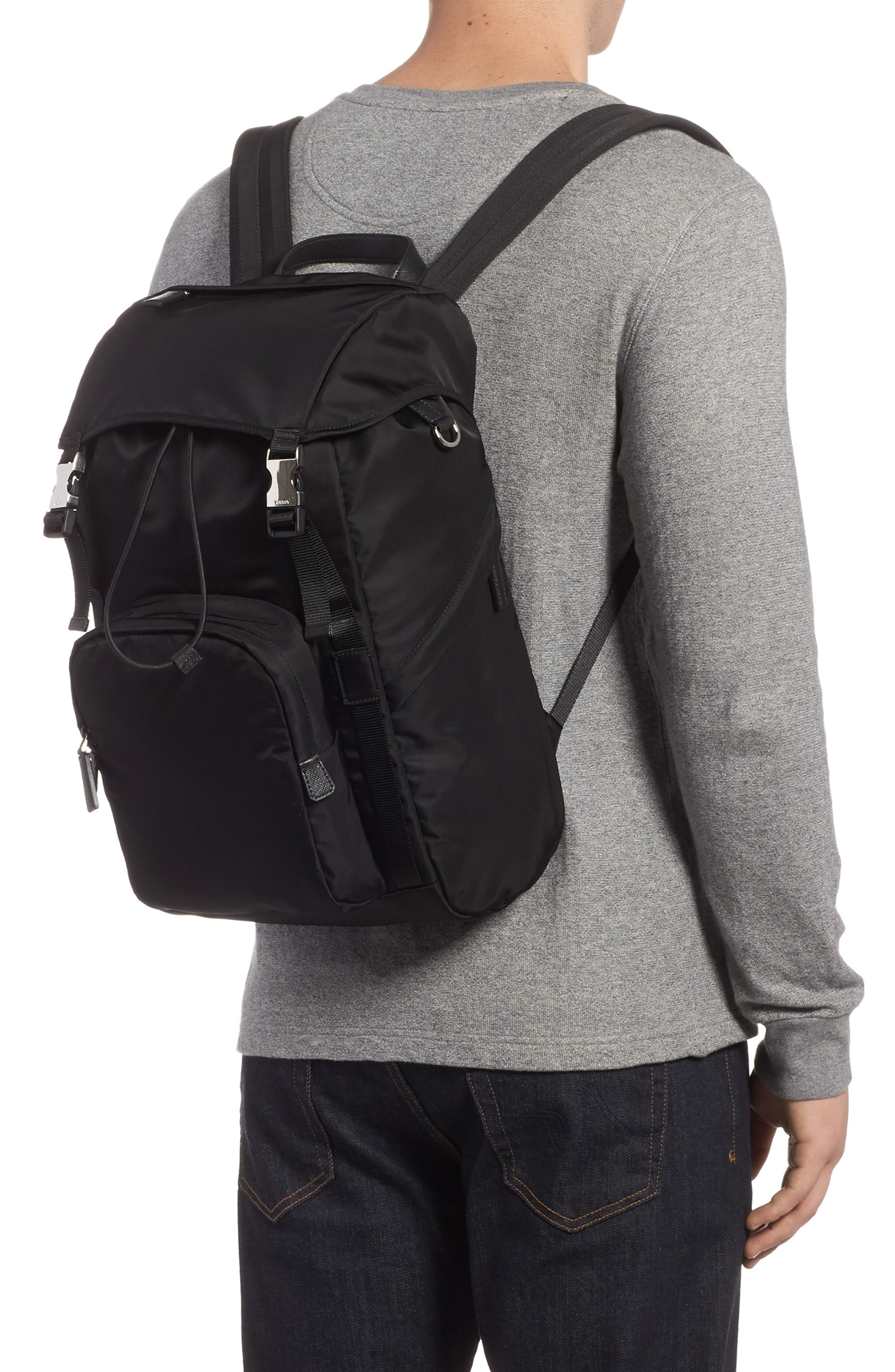 Alternate Image 2  - Prada Montagna Flap Backpack