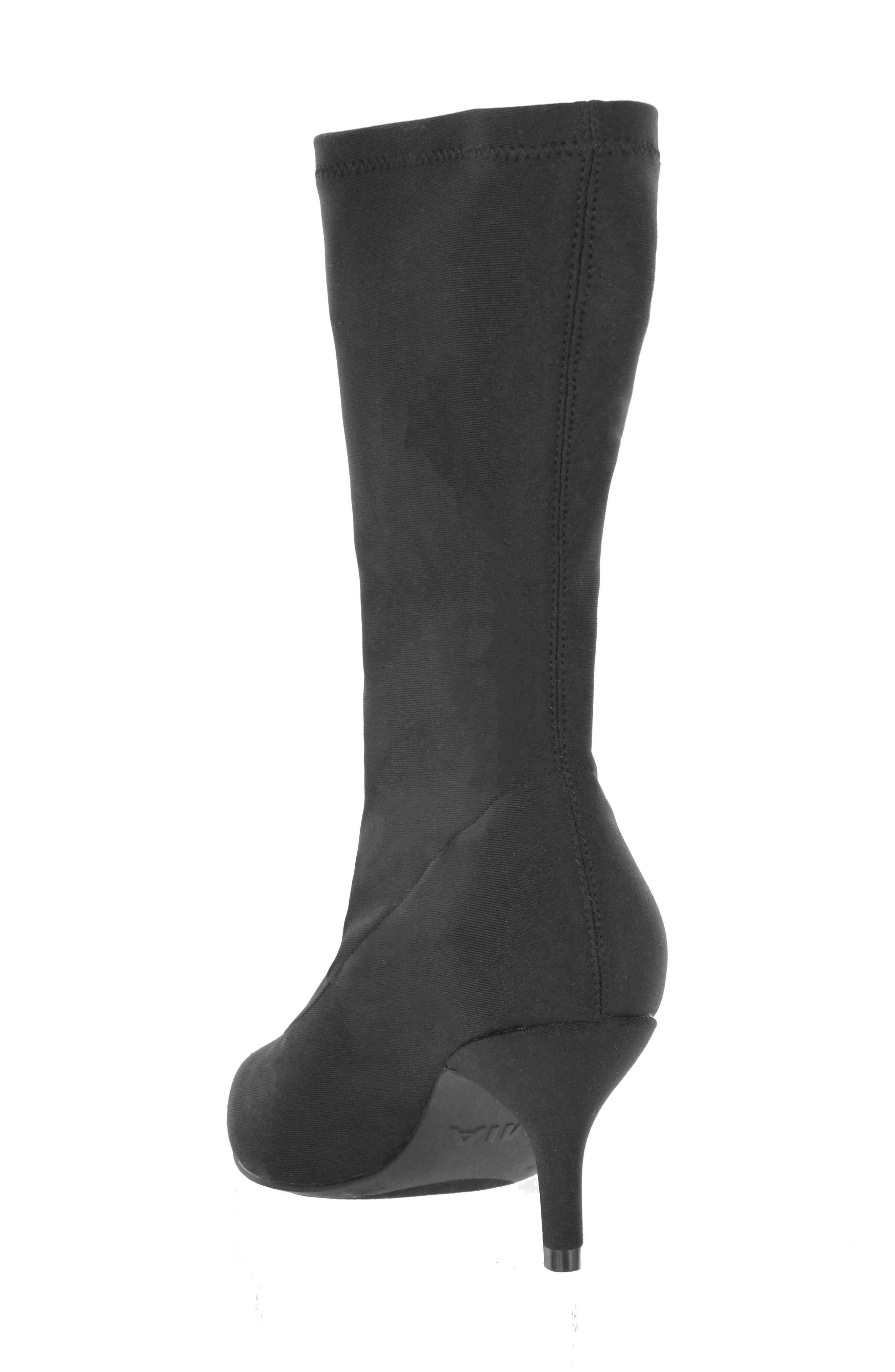 Camilla Sock Boot,                             Alternate thumbnail 2, color,                             Black