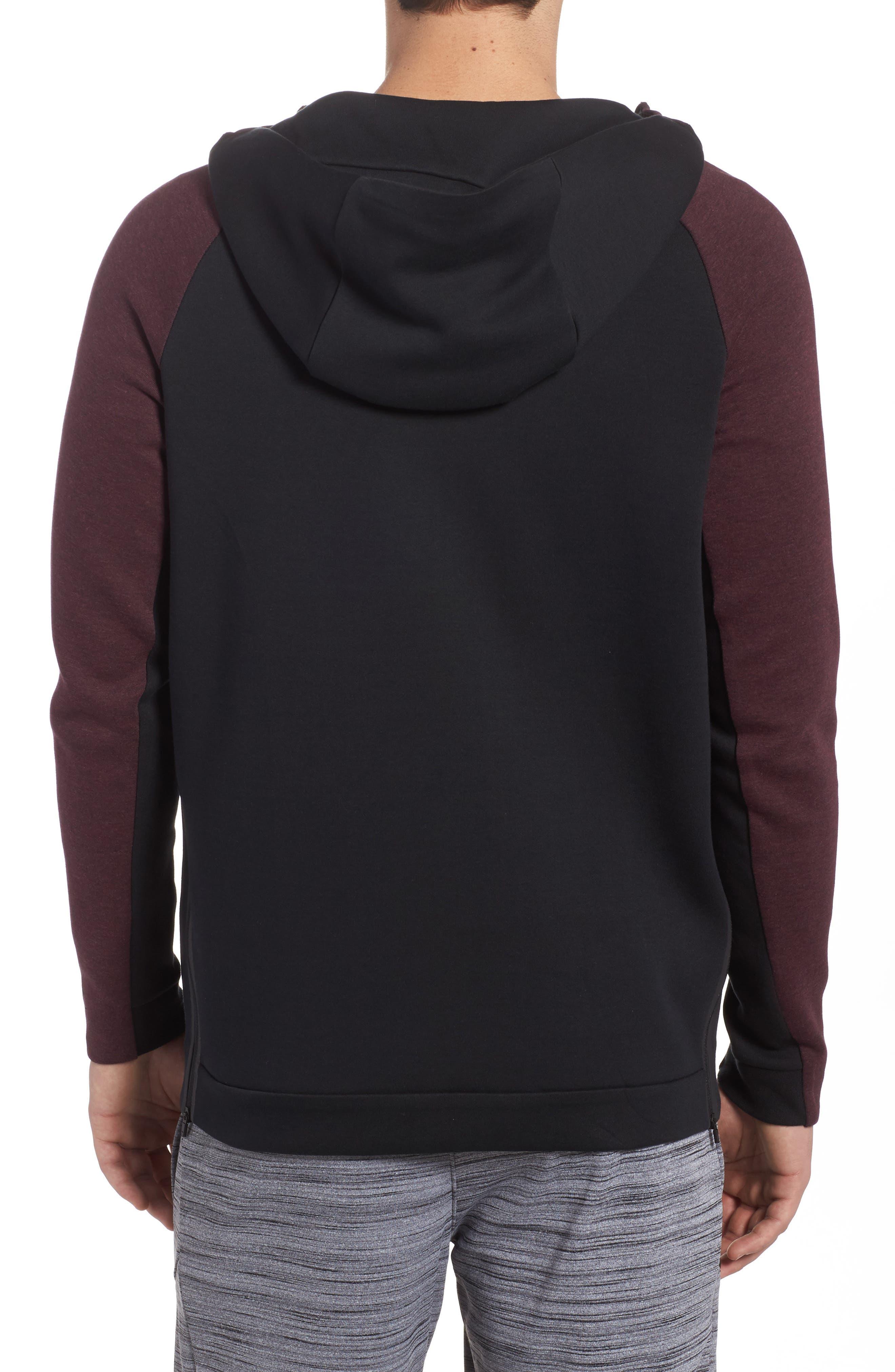 Alternate Image 2  - Nike Half-Zip Pullover Hoodie