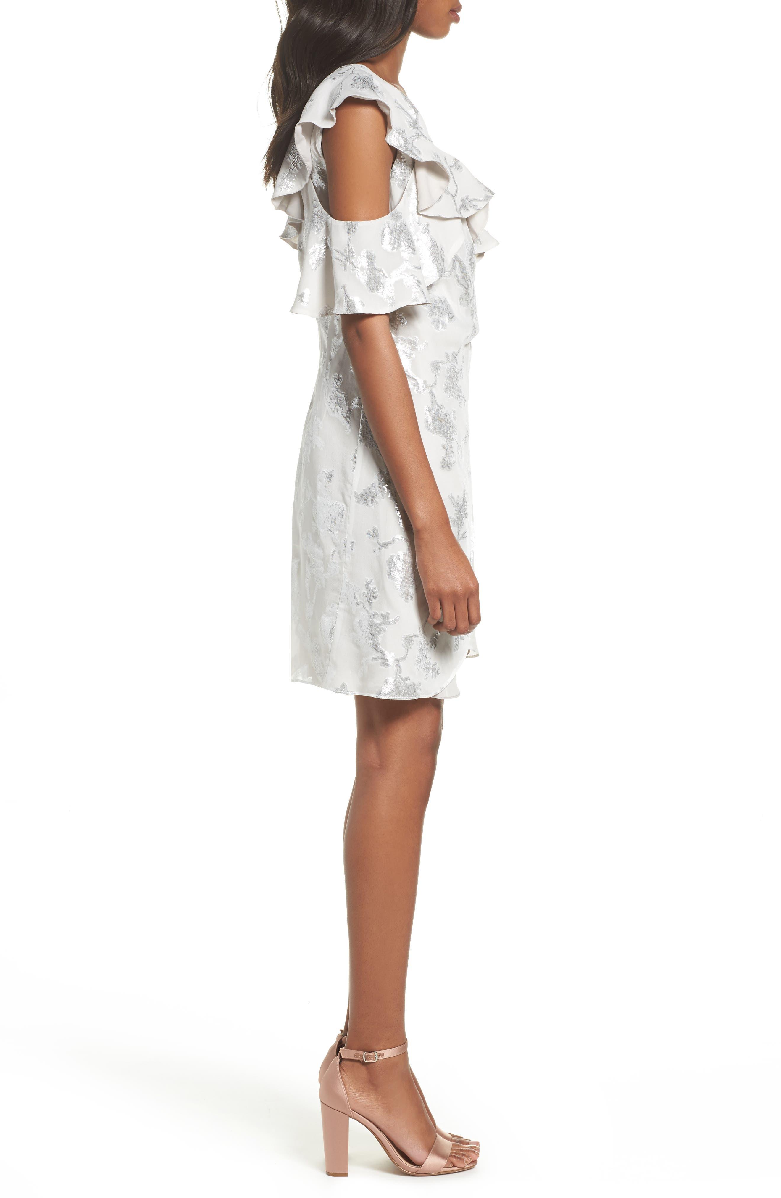 Alternate Image 3  - Bardot Cold Shoulder Wrap Dress