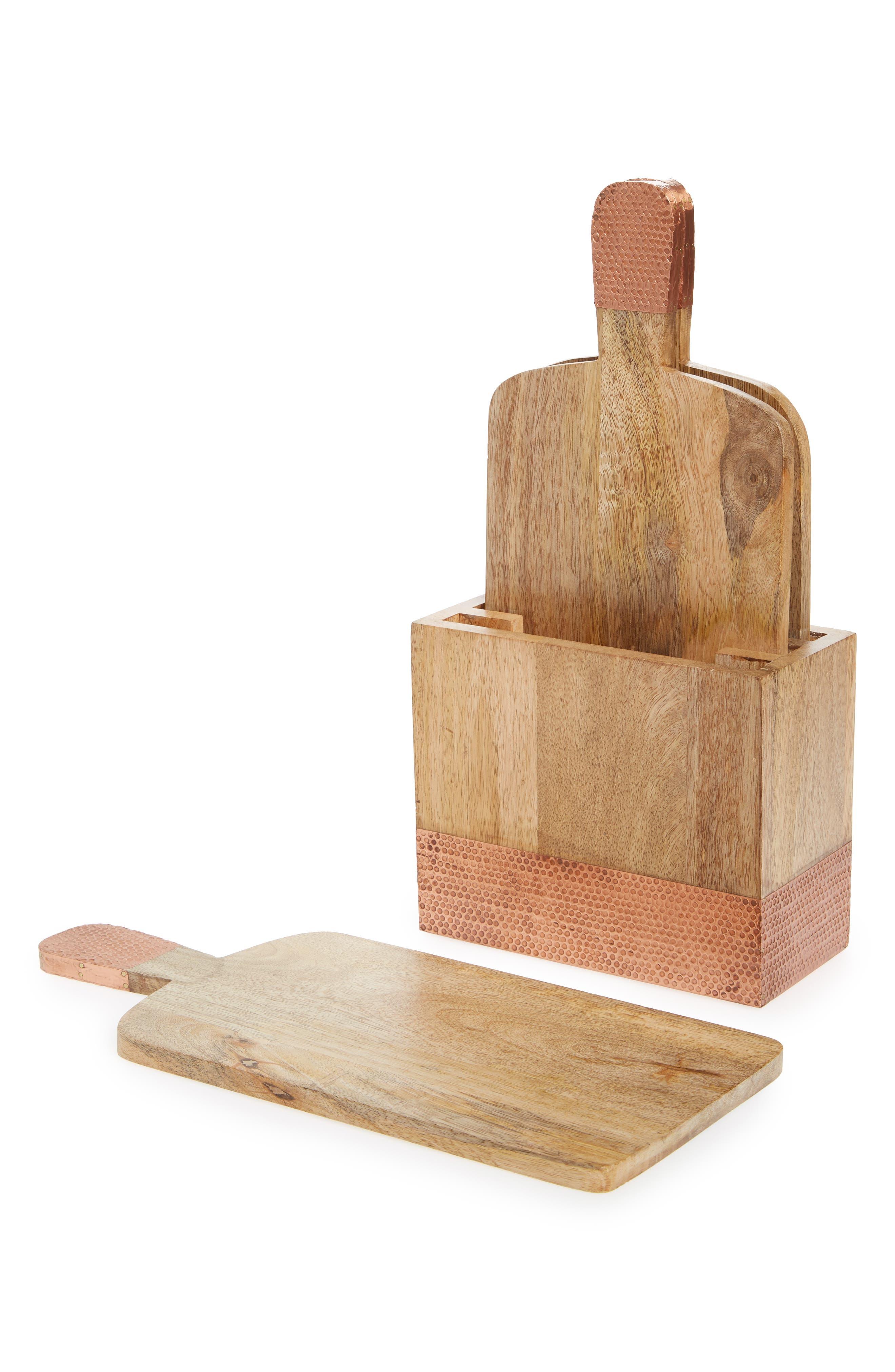 Main Image - Nordstrom at Home Mango Wood Cutting Board Set