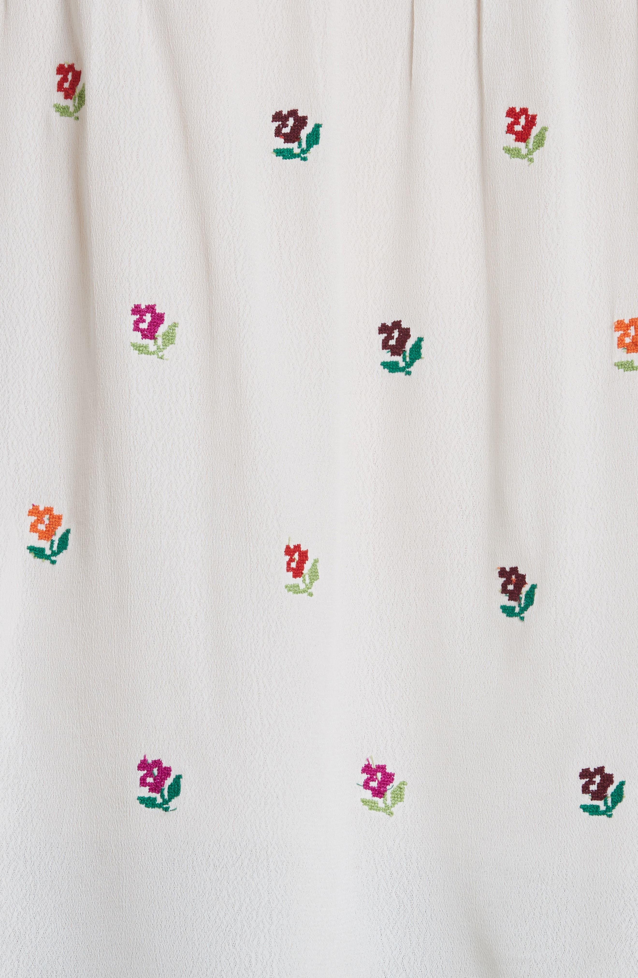 Alternate Image 5  - Needle & Thread Cross Stitch Floral Top