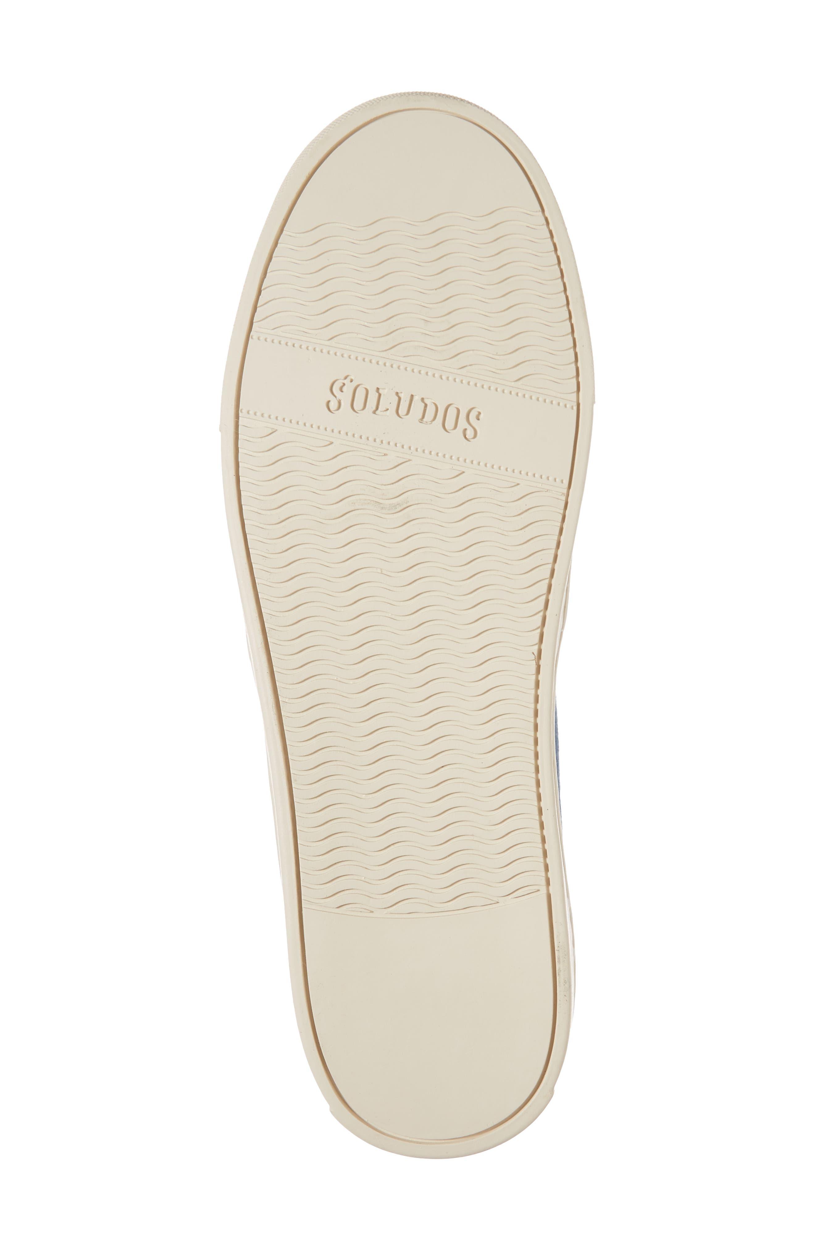 Otomi Slip-On Sneaker,                             Alternate thumbnail 6, color,                             Denim Fabric