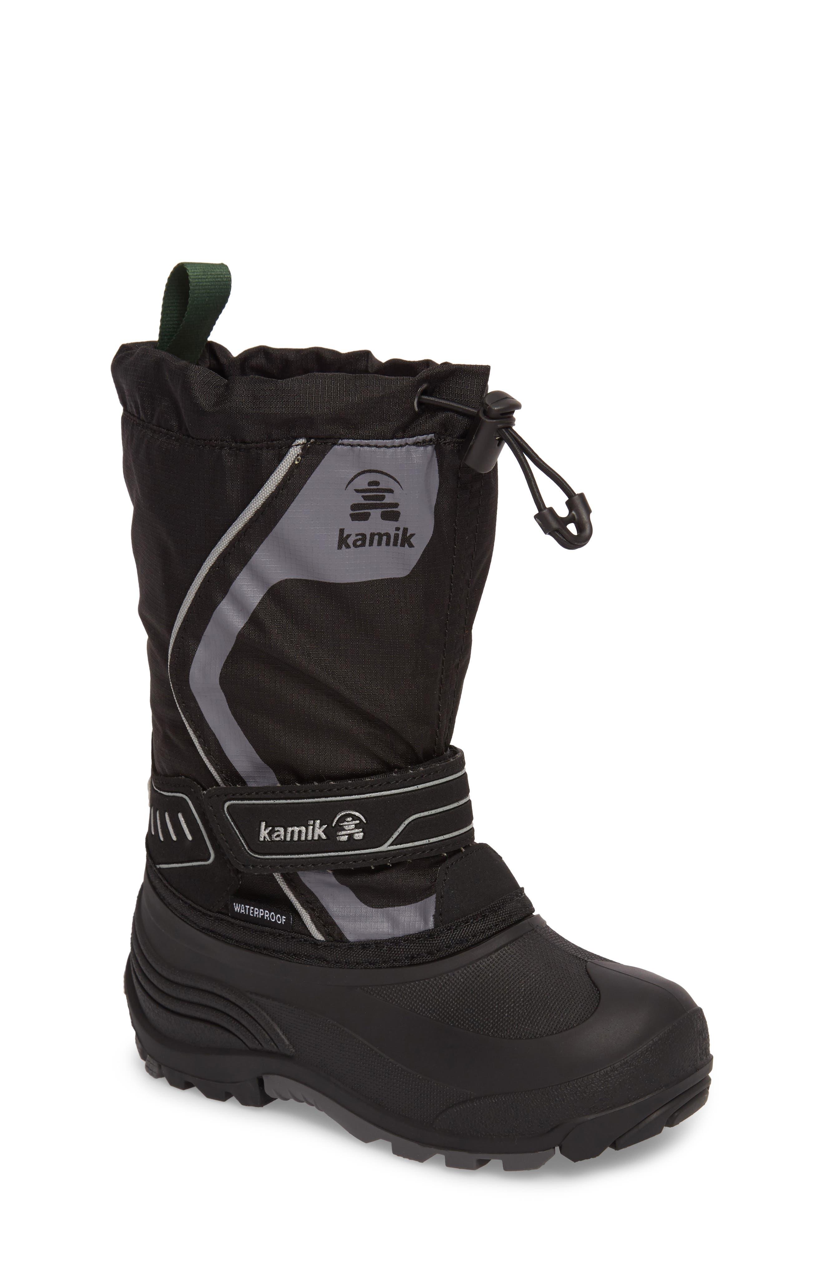 Alternate Image 1 Selected - Kamik Snowcoast3 Waterproof Snow Boot (Toddler, Little Kid & Big Kid)