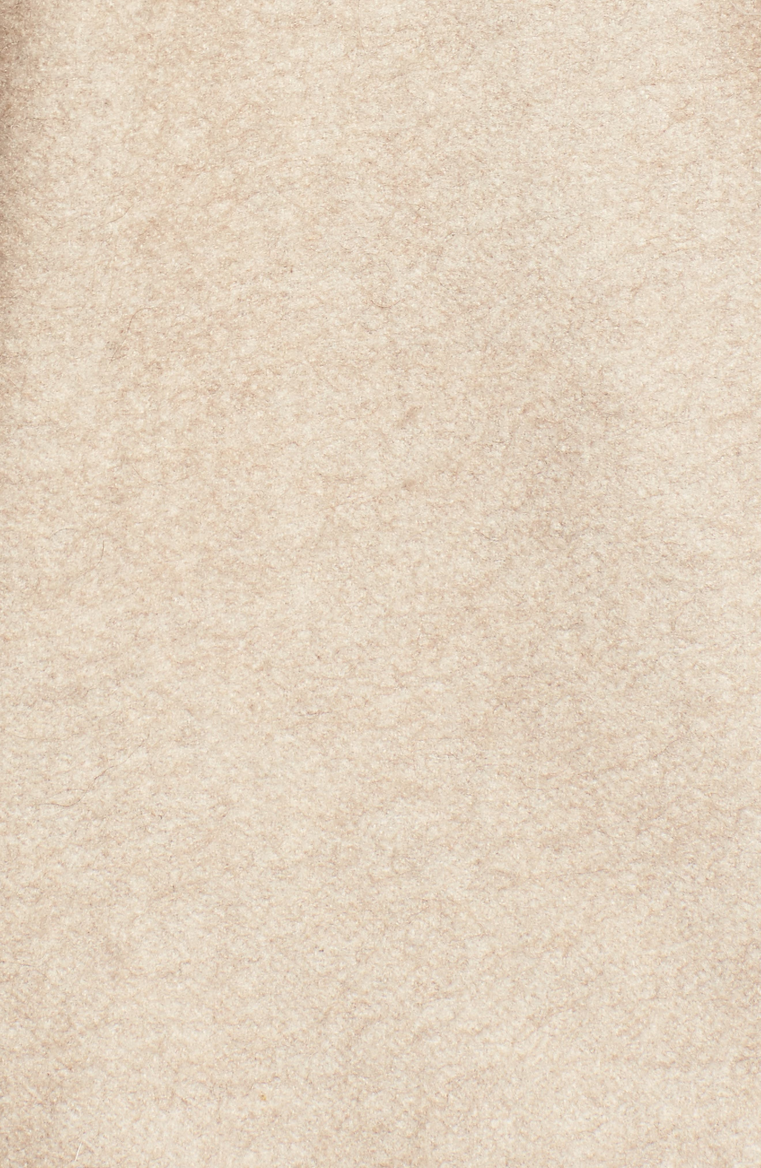 Alternate Image 5  - Max Mara Cashmere Hooded Cape with Genuine Fox Fur Trim