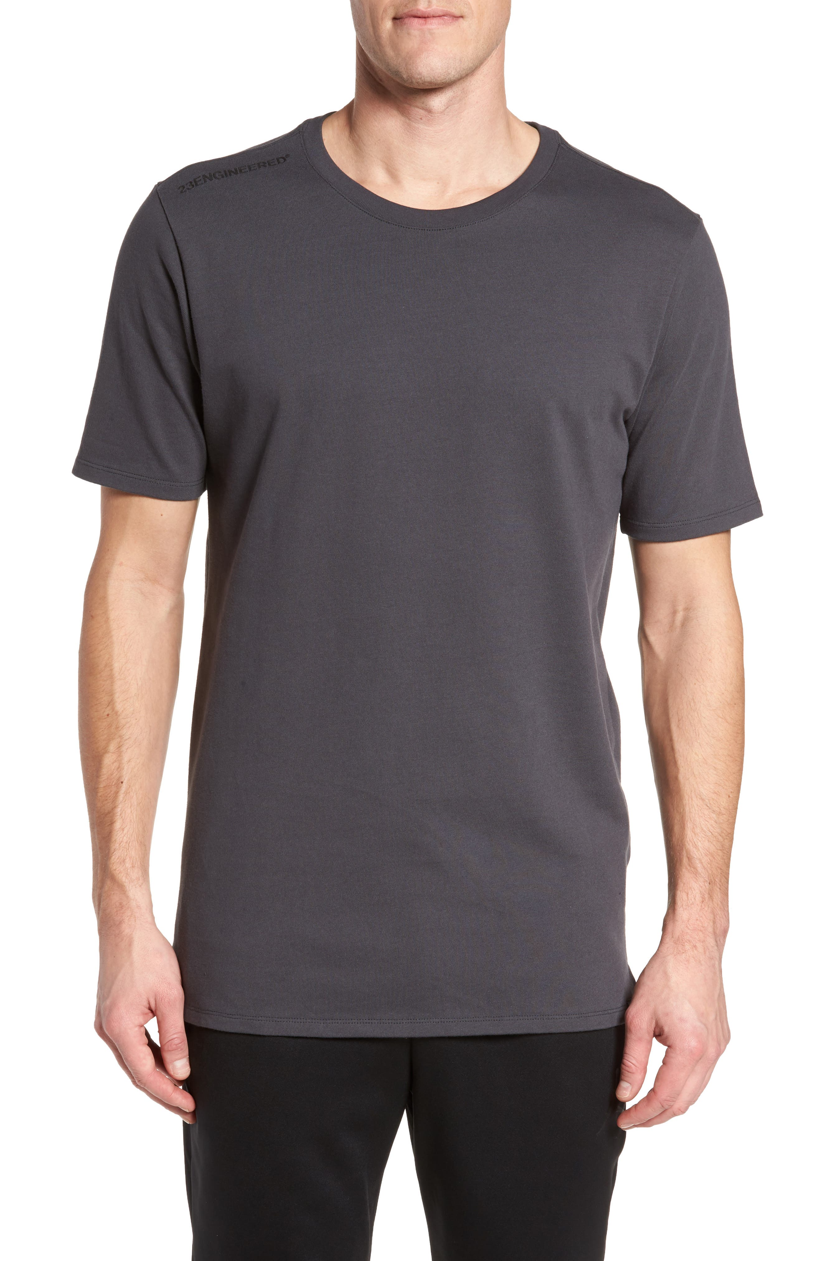 Sportswear 23 Engineered T-Shirt,                             Main thumbnail 1, color,                             Anthracite/ Black