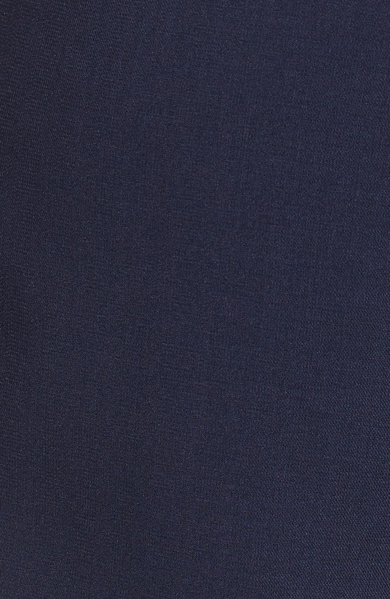 Tie Front Pants,                             Alternate thumbnail 5, color,                             Navy