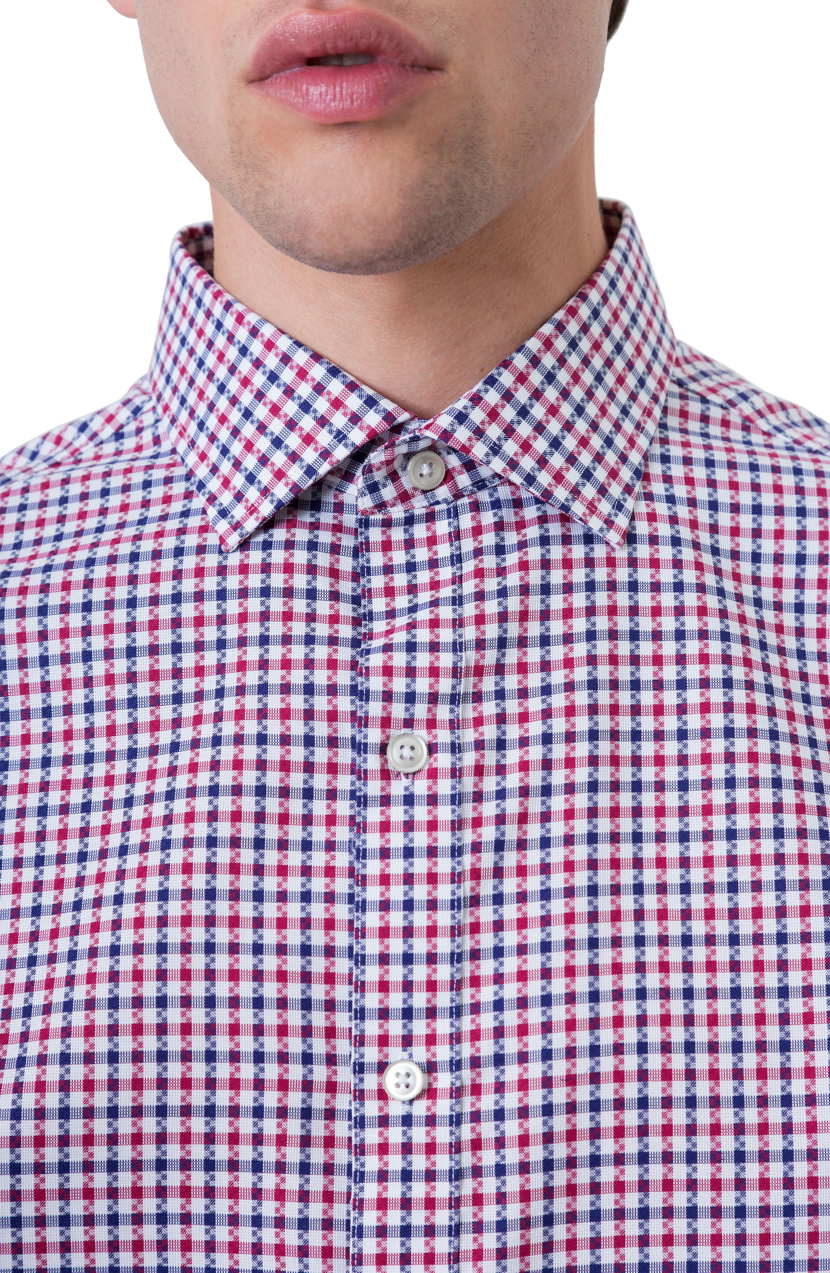 Freedom Road Woven Shirt,                             Alternate thumbnail 4, color,                             Red