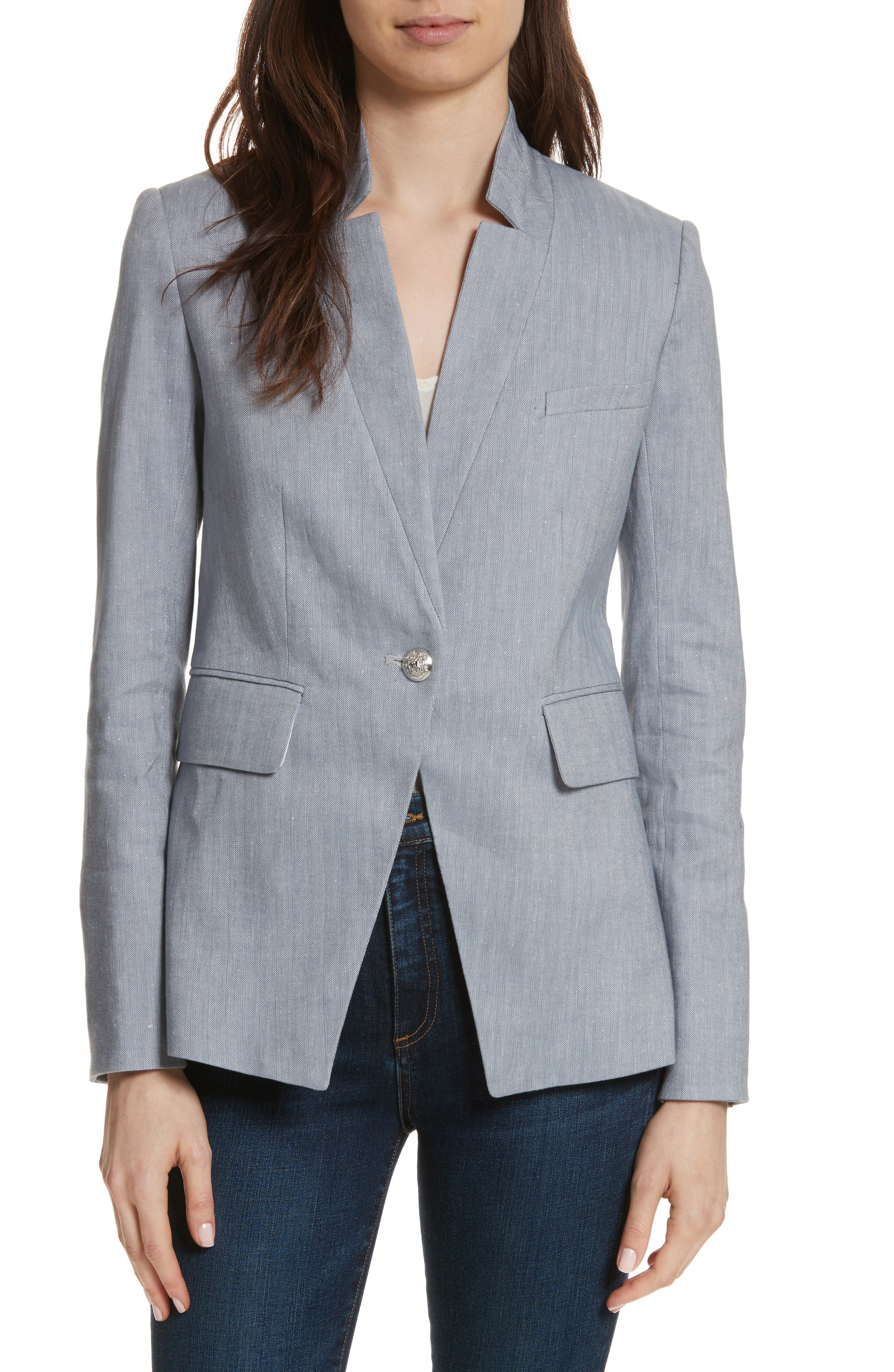 Alternate Image 1 Selected - Veronica Beard Upcollar Jacket