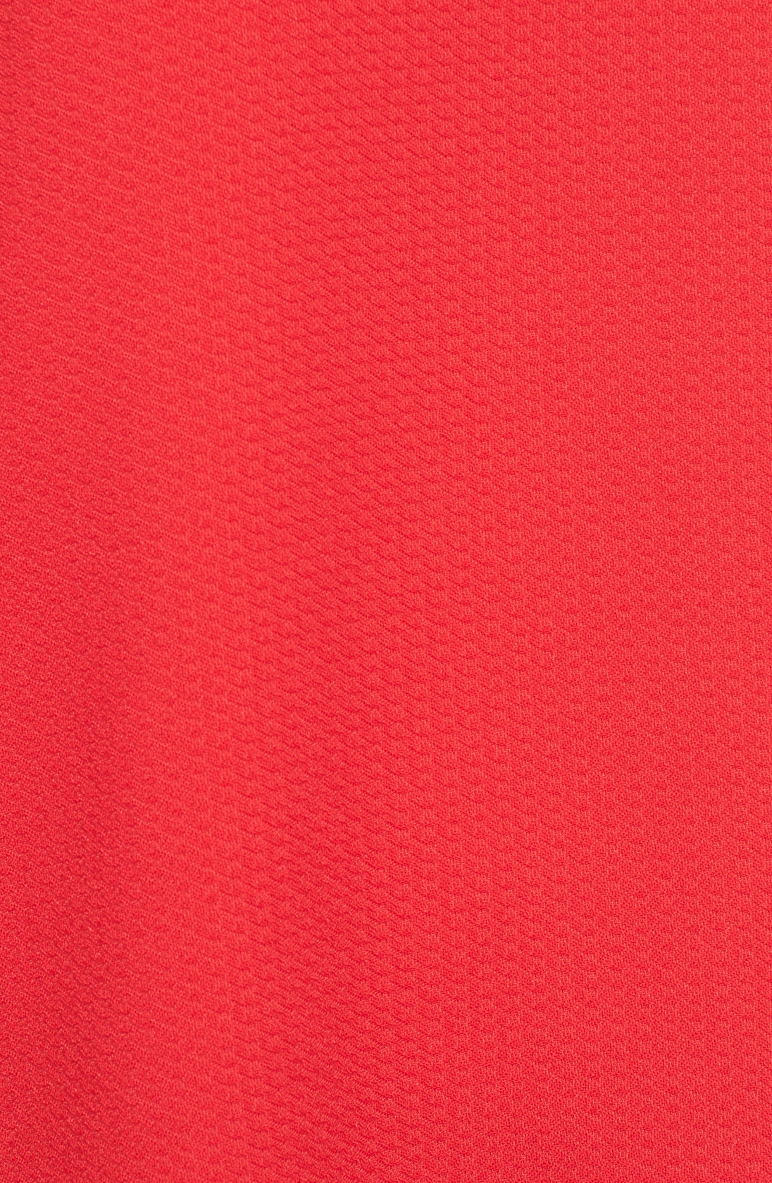 Bell Sleeve Top,                             Alternate thumbnail 5, color,                             Red Pepper