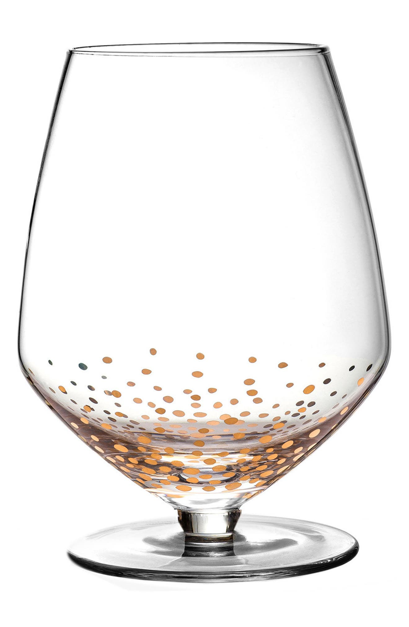 Luster Set of 4 Pinot Noir Wine Glasses,                         Main,                         color, Gold