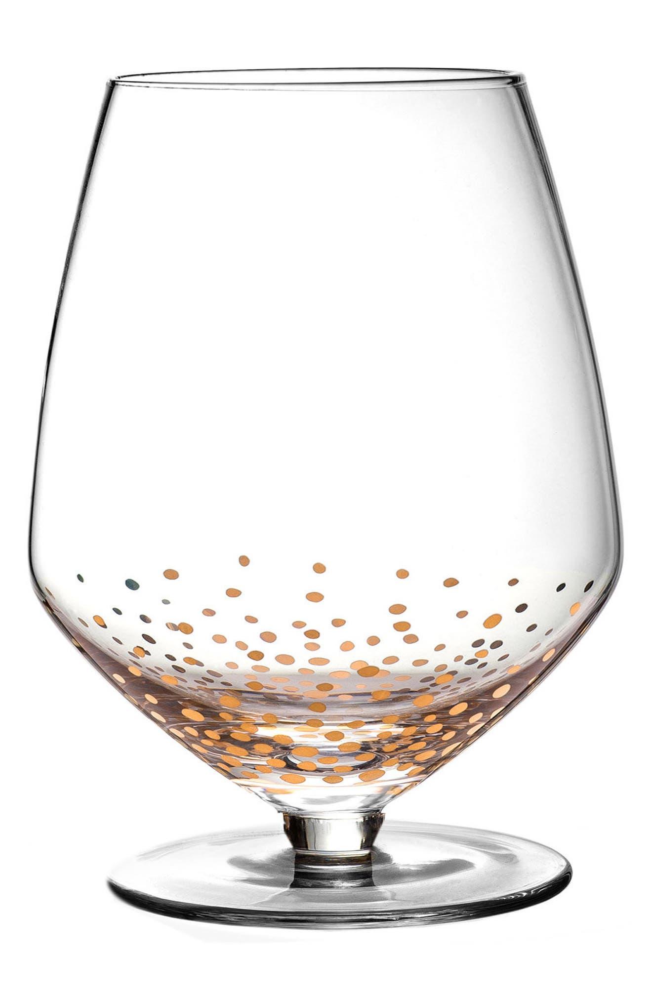 American Atelier Luster Set of 4 Pinot Noir Wine Glasses