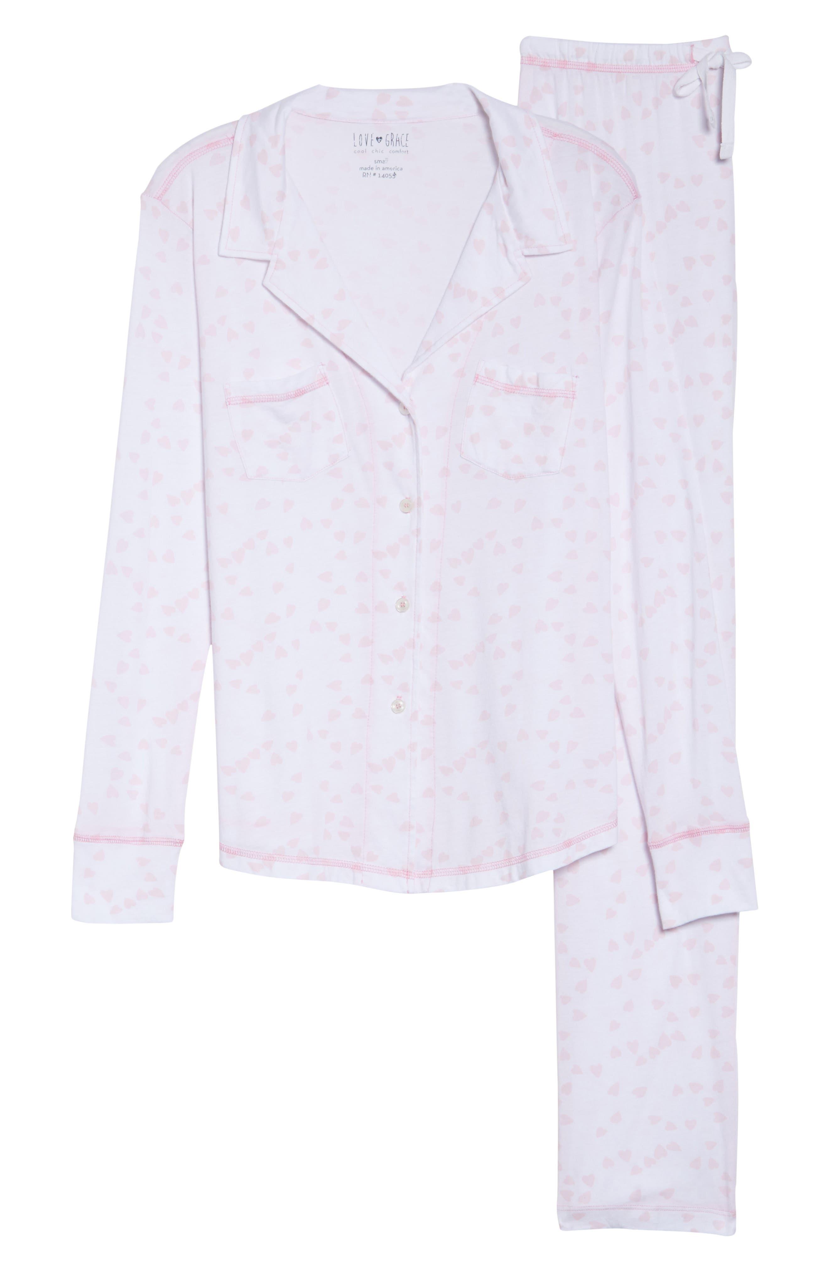 Alternate Image 4  - LOVE+GRACE Cassie Pajamas