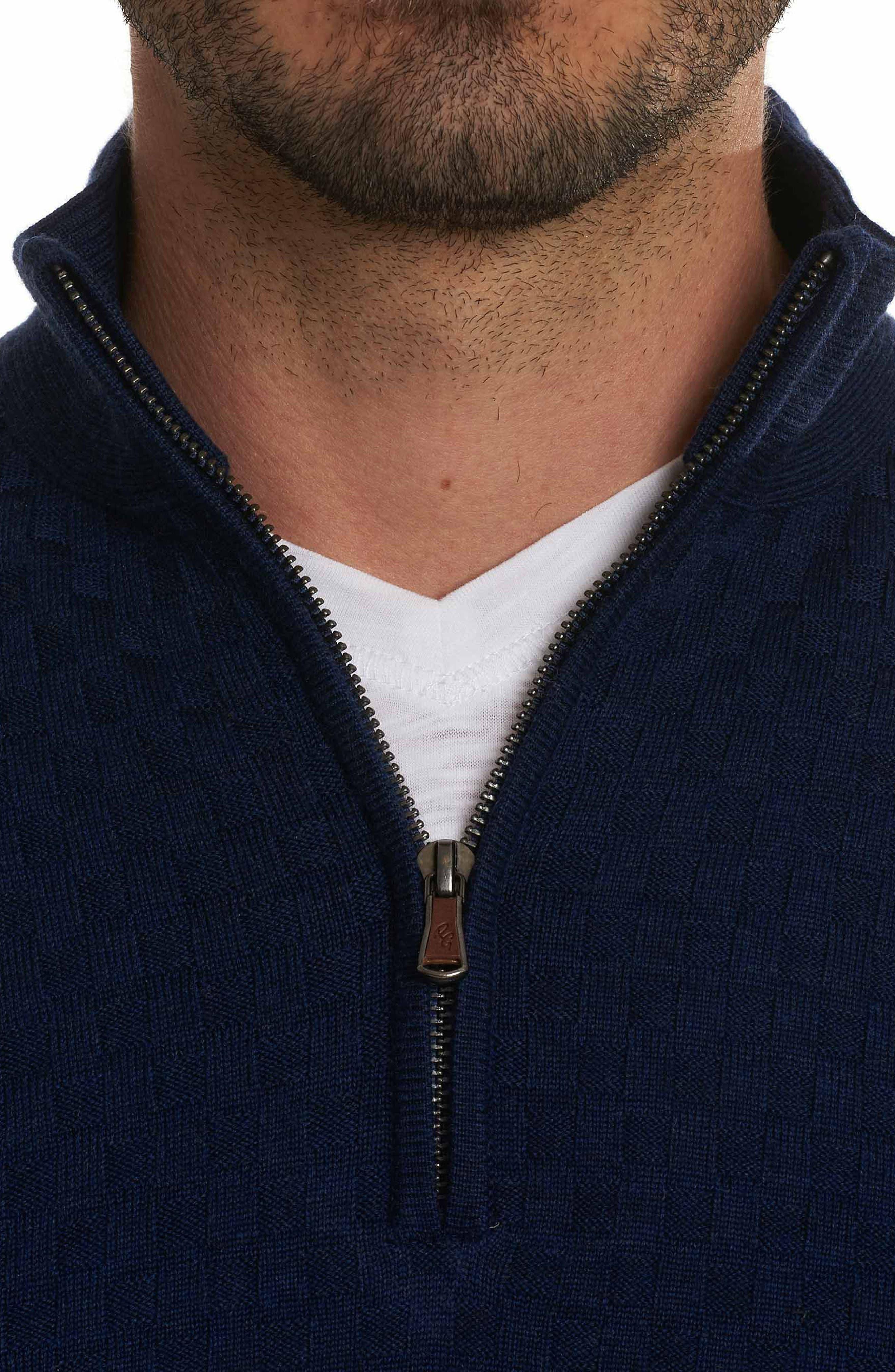 American Beech Wool Sweater,                             Alternate thumbnail 4, color,                             Navy