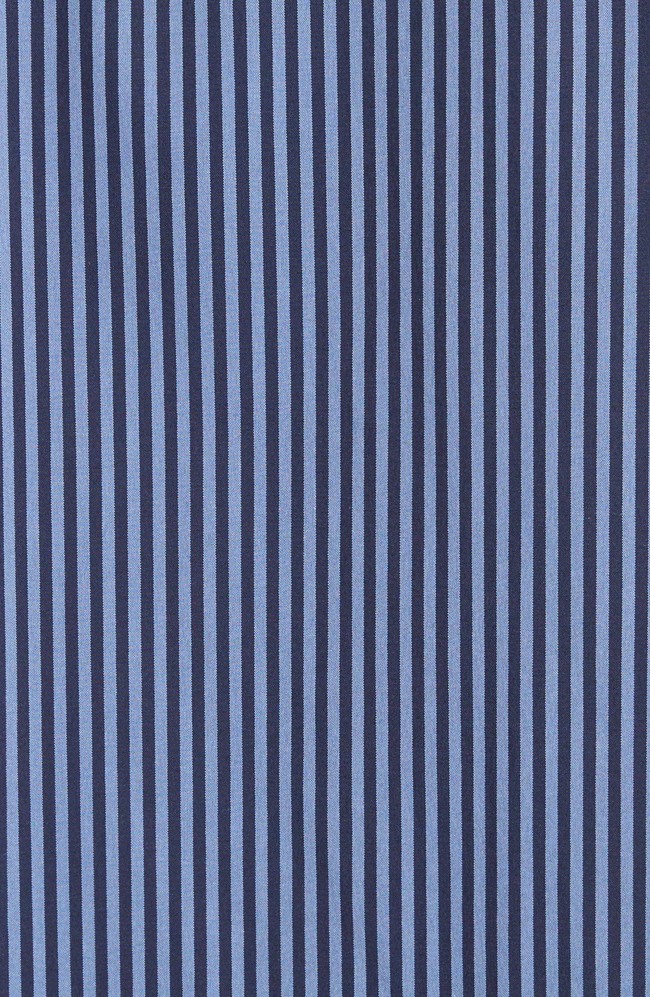 Alternate Image 5  - Lafayette 148 New York Claude Stripe Blouse