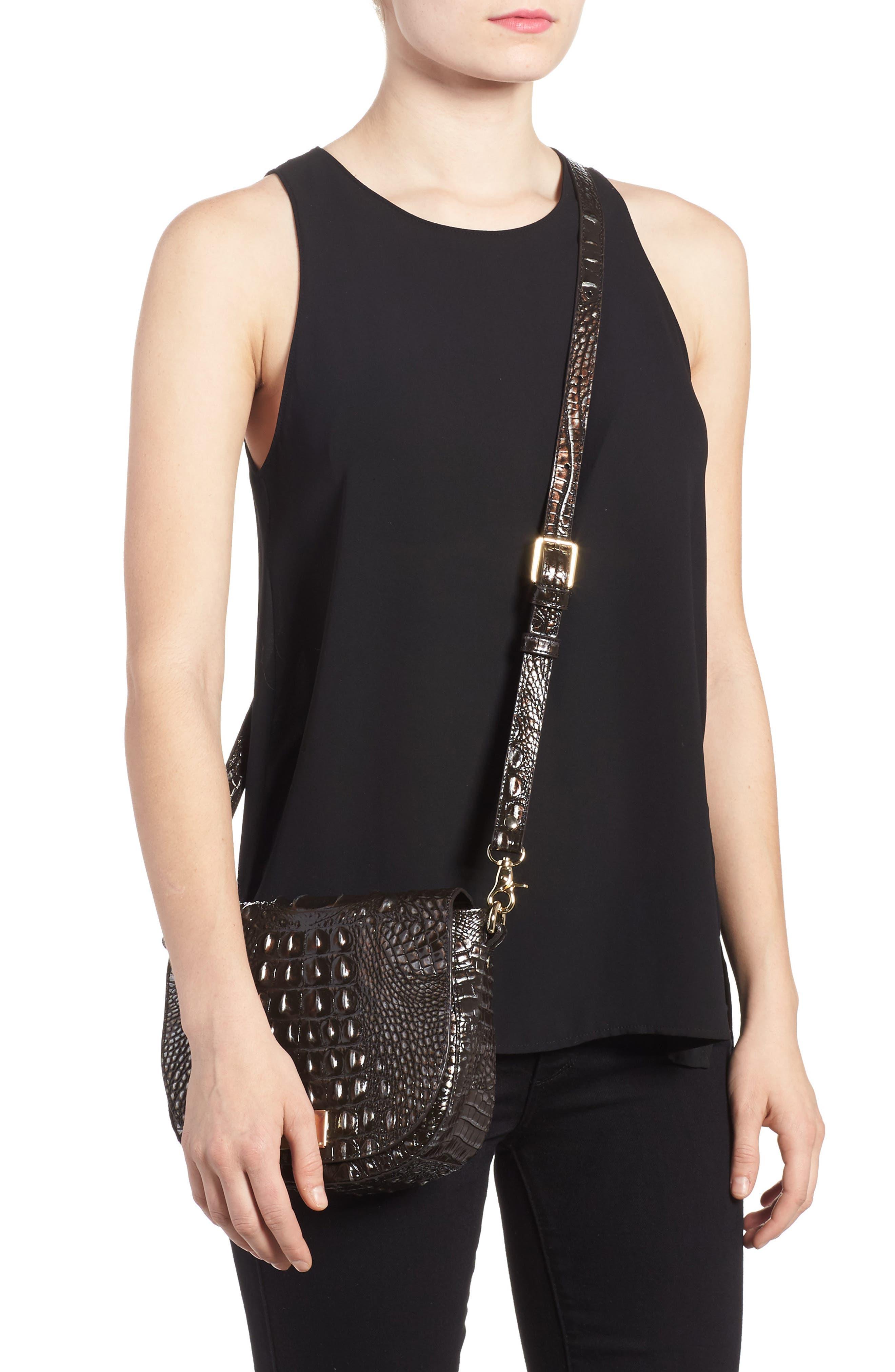 Alternate Image 2  - Brahmin Mini Sonny Leather Crossbody Bag