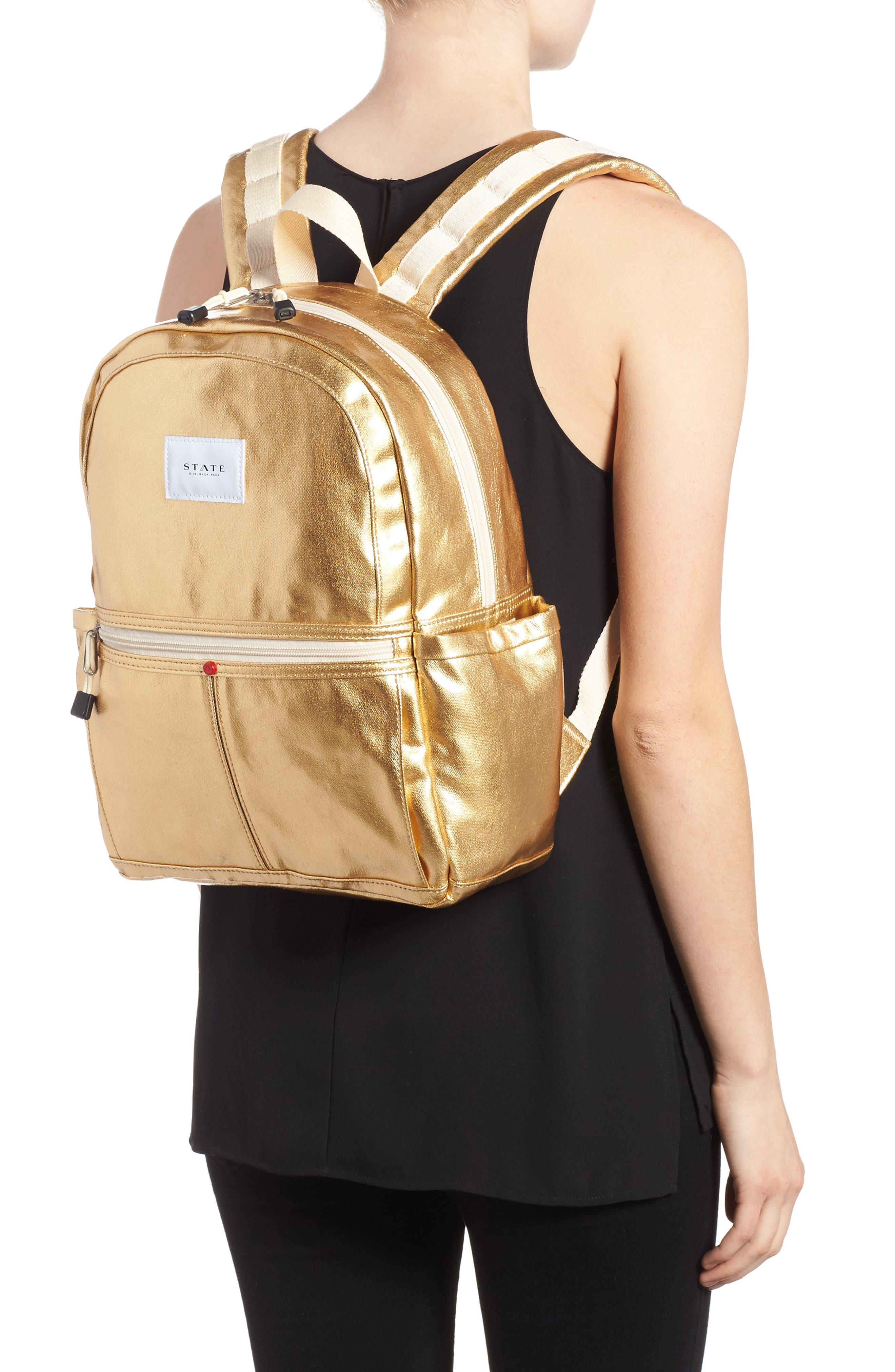 Downtown Kane Backpack,                             Alternate thumbnail 2, color,                             Gold