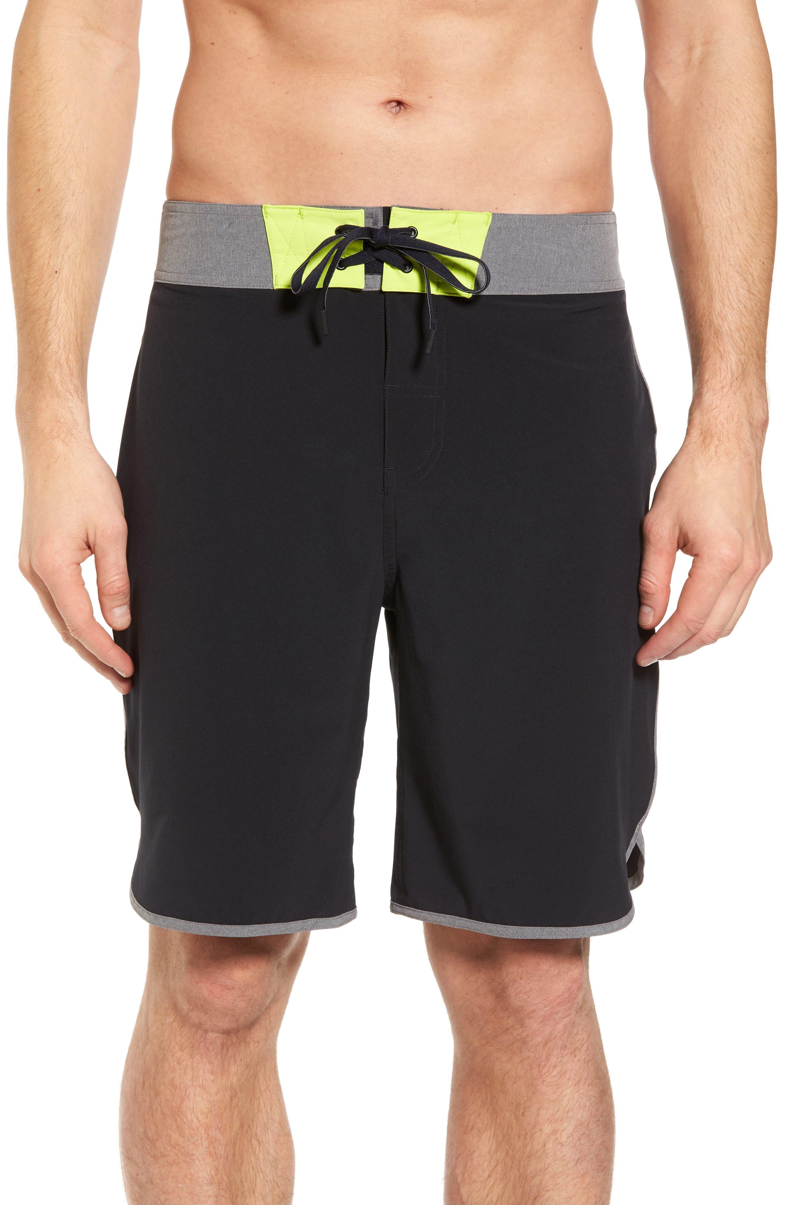 Flex Hybrid Athletic Shorts,                             Main thumbnail 1, color,                             Black
