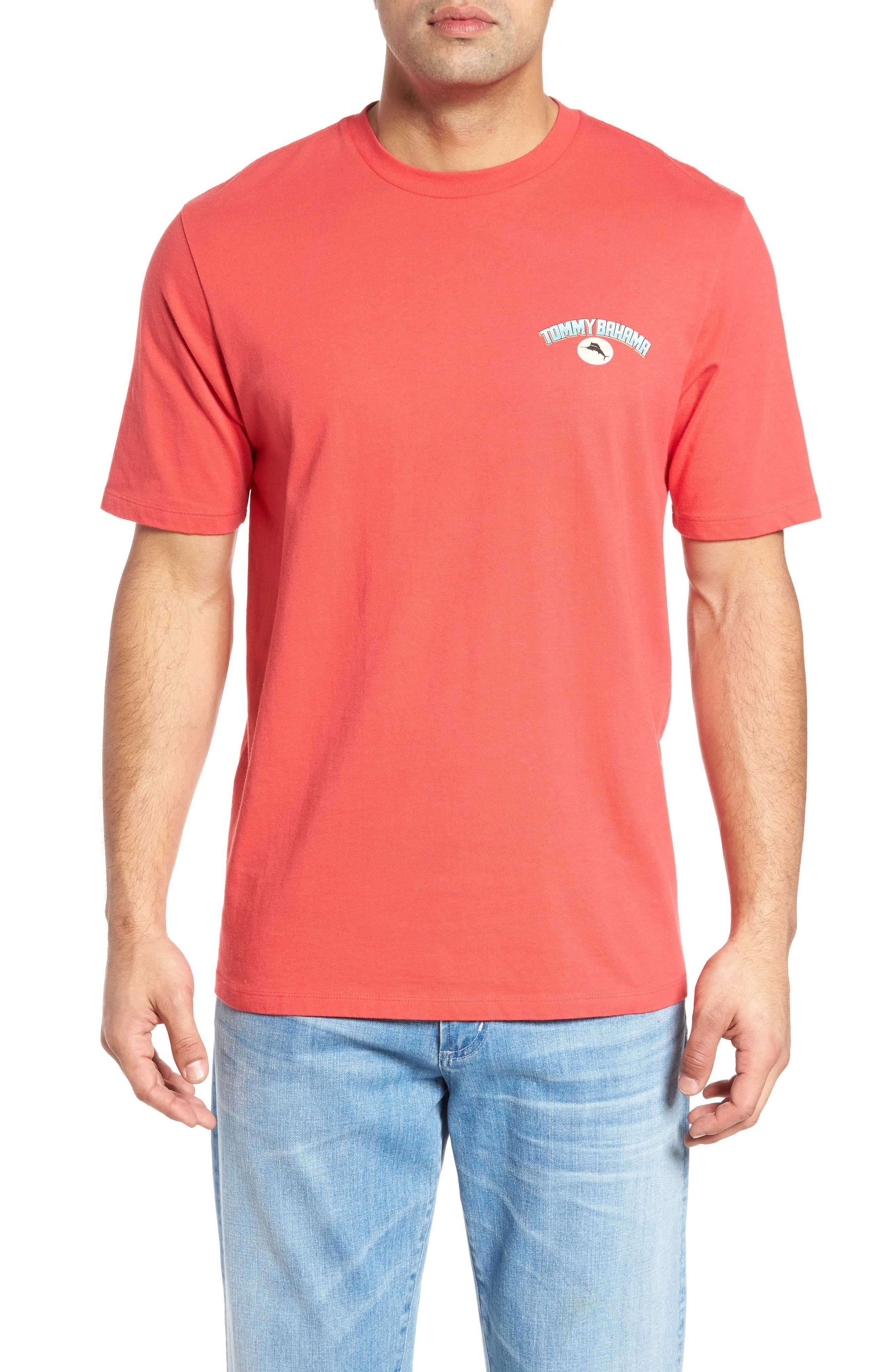 Grate Outdoors T-Shirt,                         Main,                         color, Pomodoro
