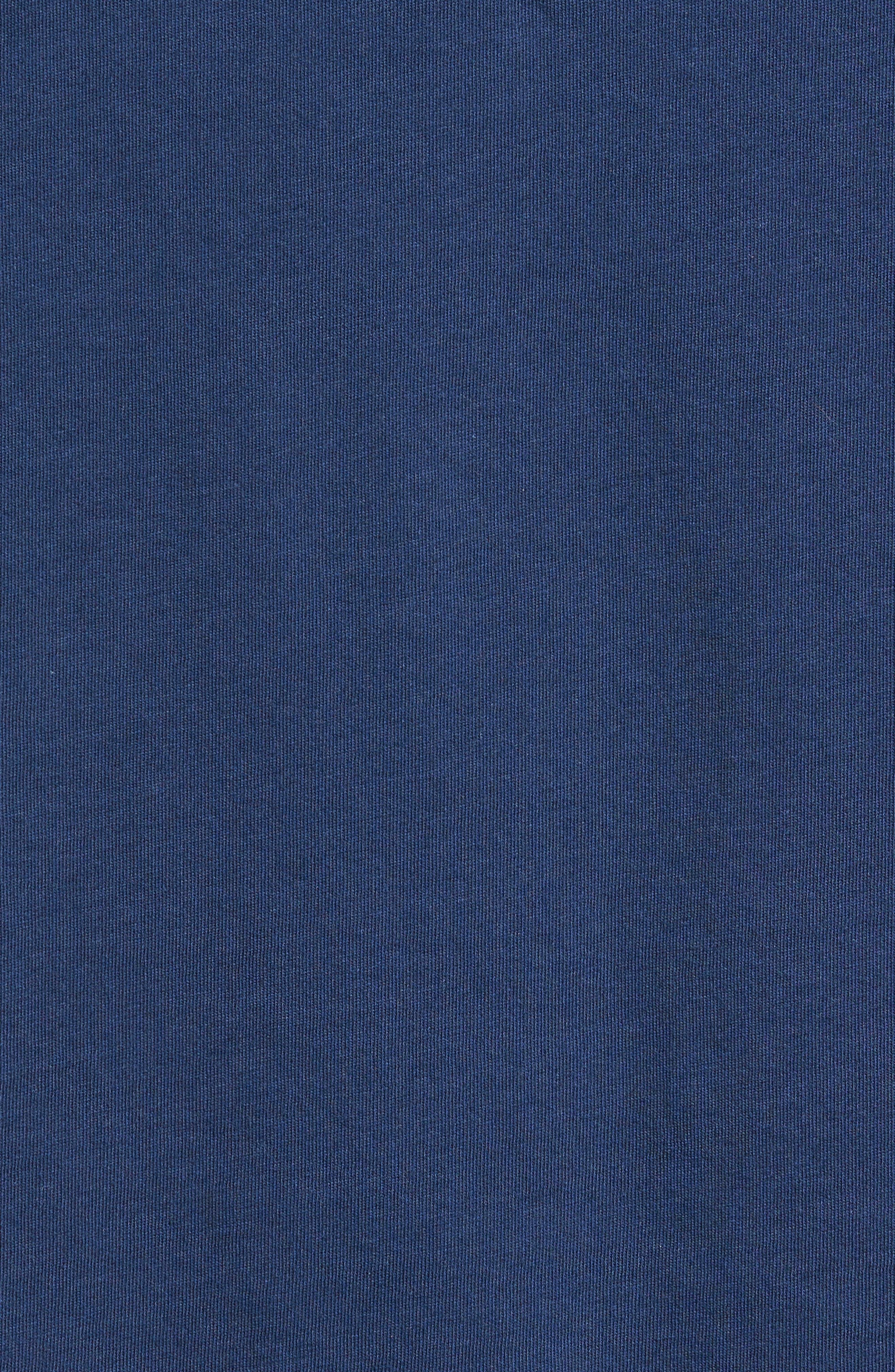 Diamond Isle Graphic T-Shirt,                             Alternate thumbnail 5, color,                             Navy
