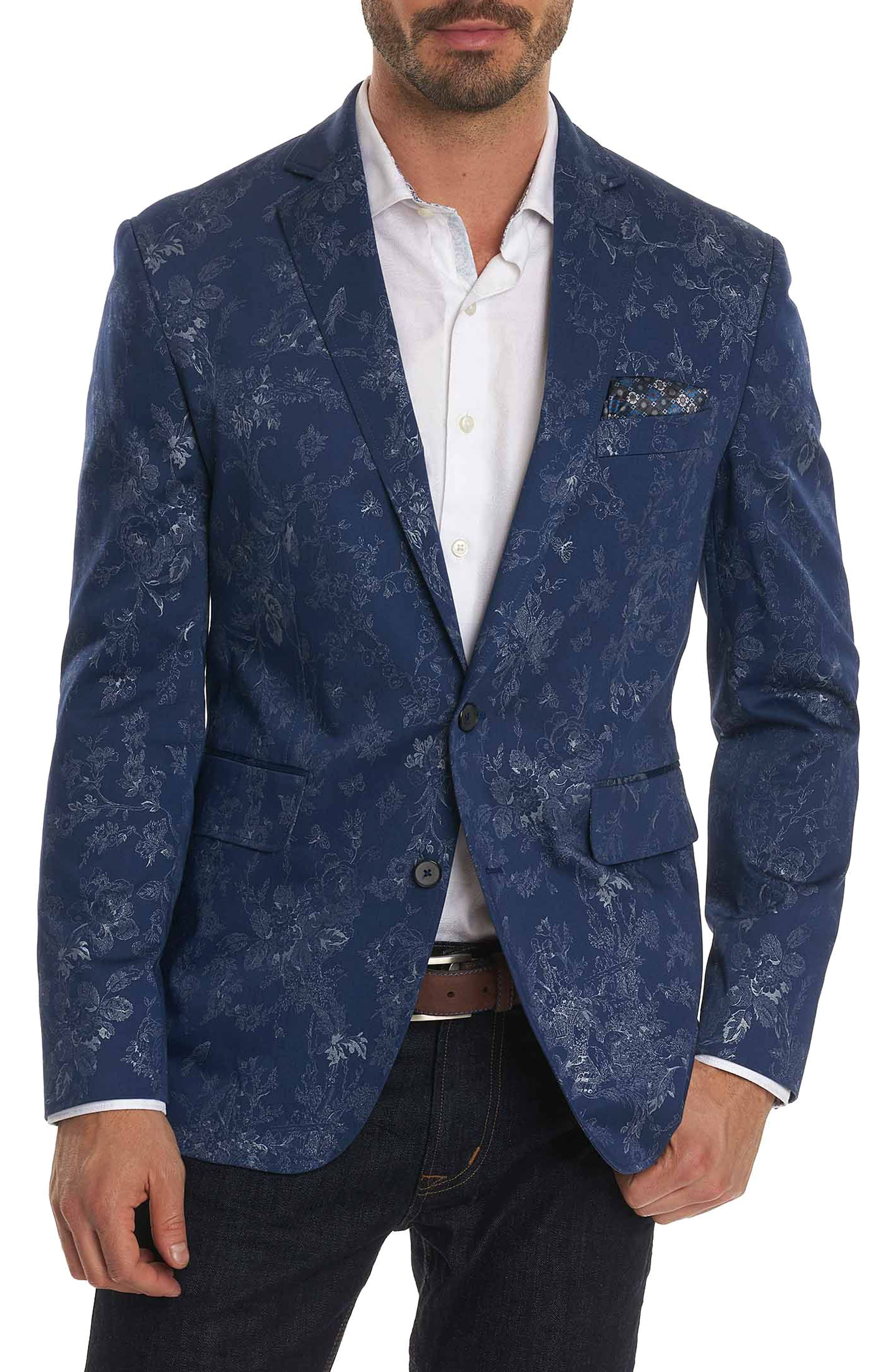 Dwight Sport Coat,                         Main,                         color, Blue