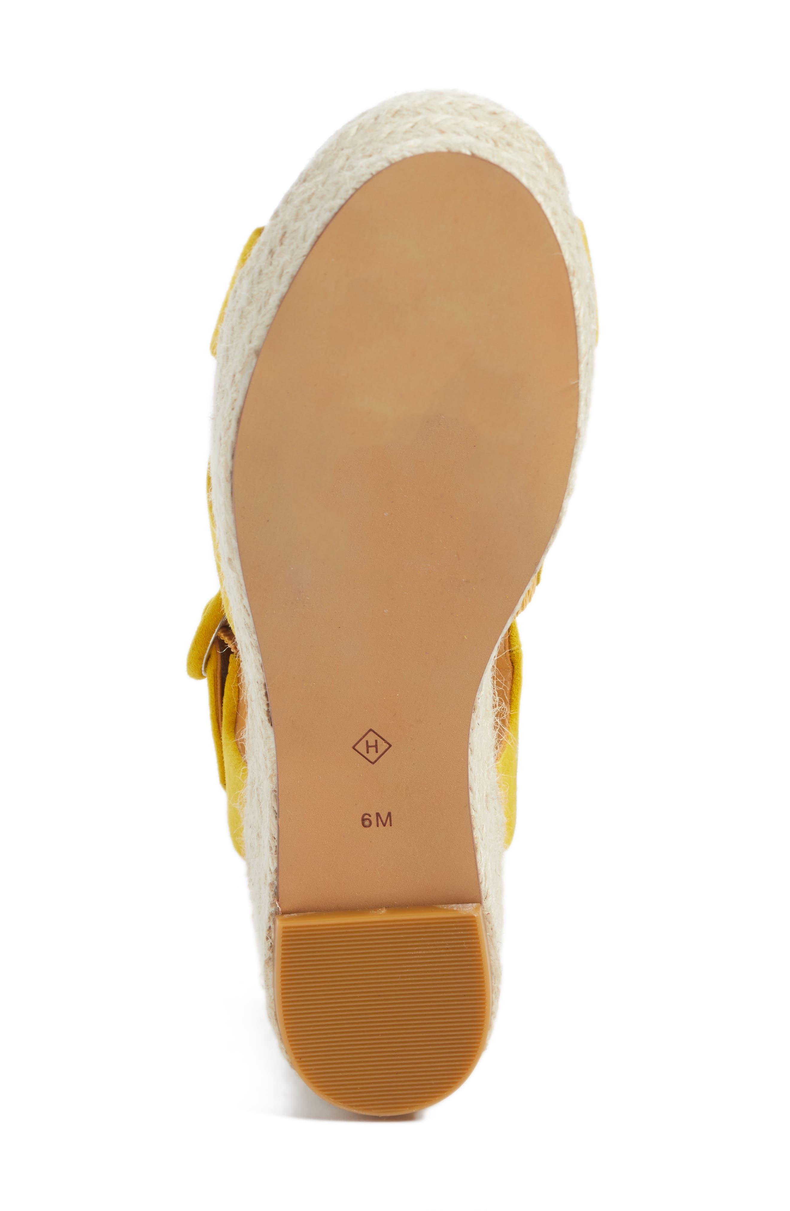 Alternate Image 6  - Halogen® Emery Platform Espadrille Sandal (Women)