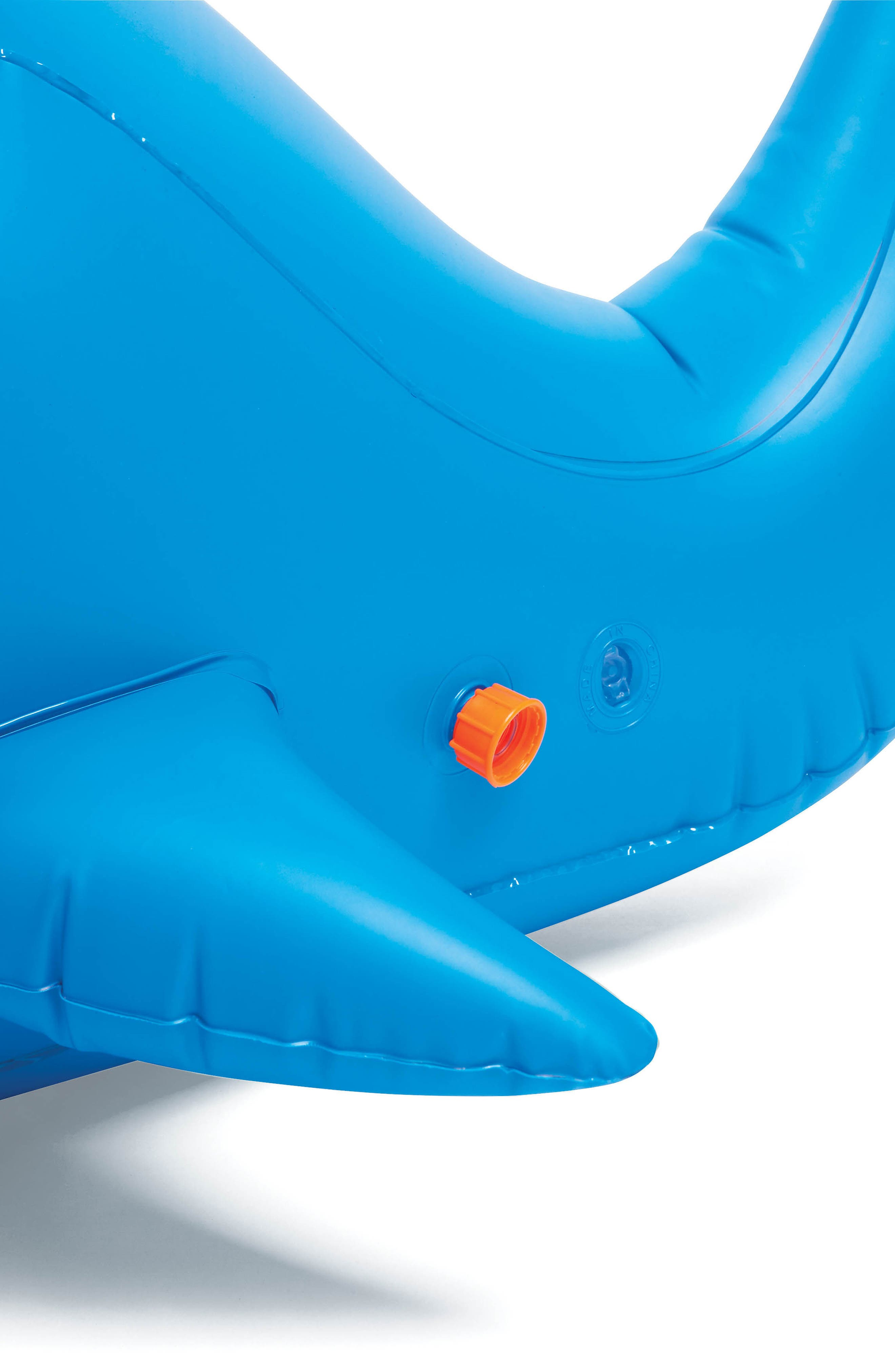 Moby Dick Inflatable Sprinkler,                             Alternate thumbnail 4, color,                             Blue
