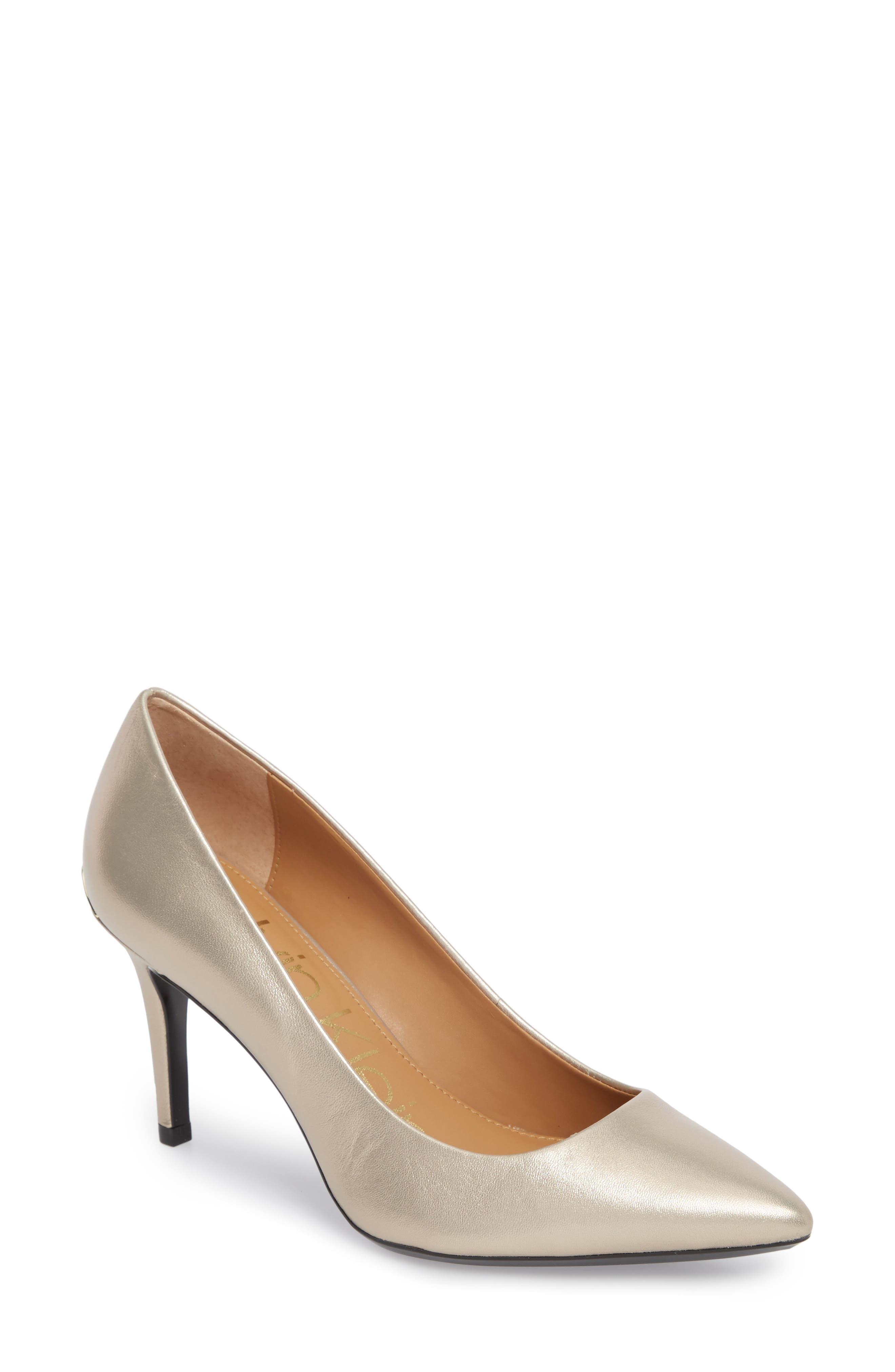 Alternate Image 1 Selected - Calvin Klein 'Gayle' Pointy Toe Pump (Women)
