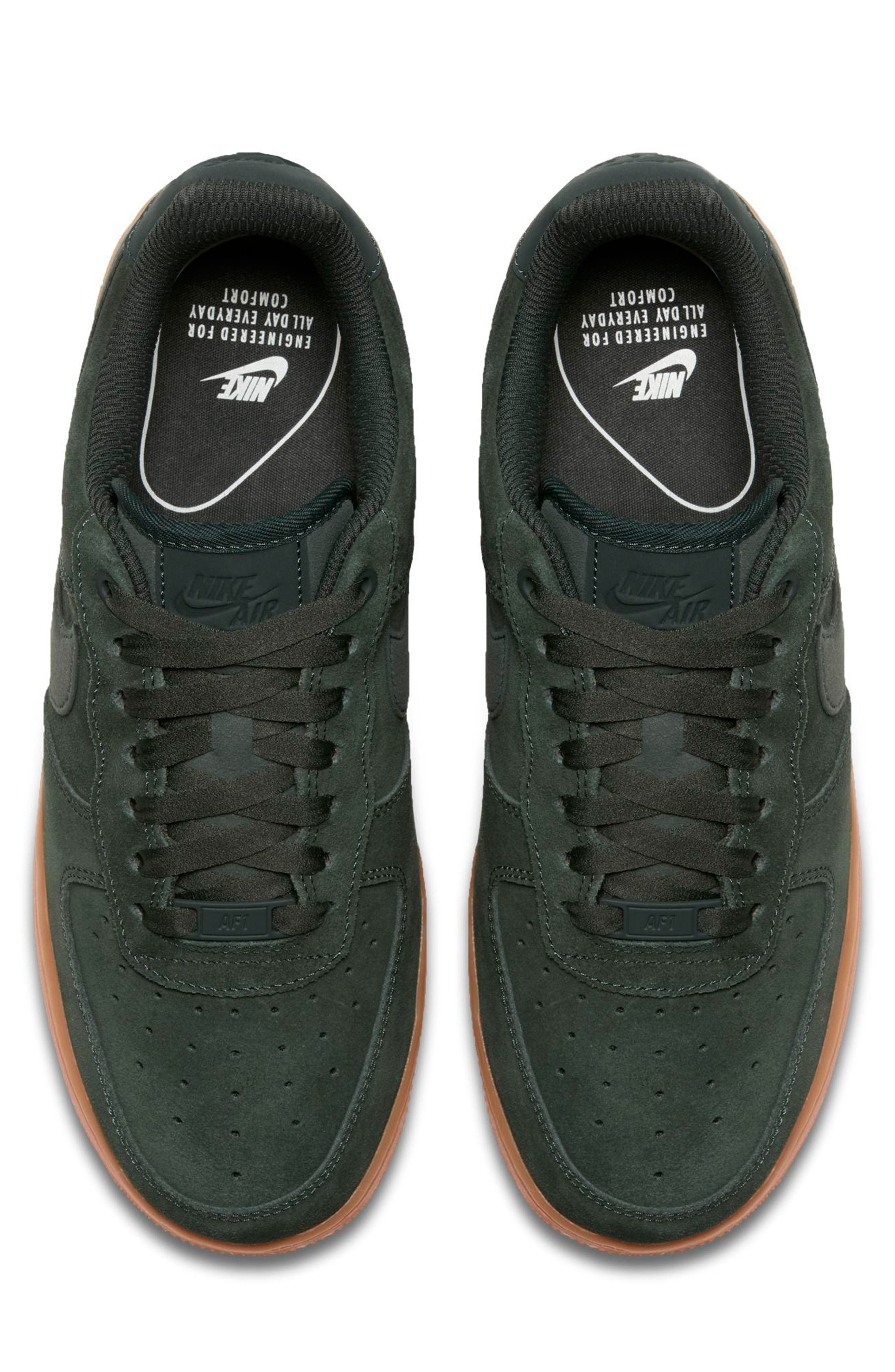 Air Force 1 '07 SE Sneaker,                             Alternate thumbnail 5, color,                             Outdoor Green/ Outdoor Green