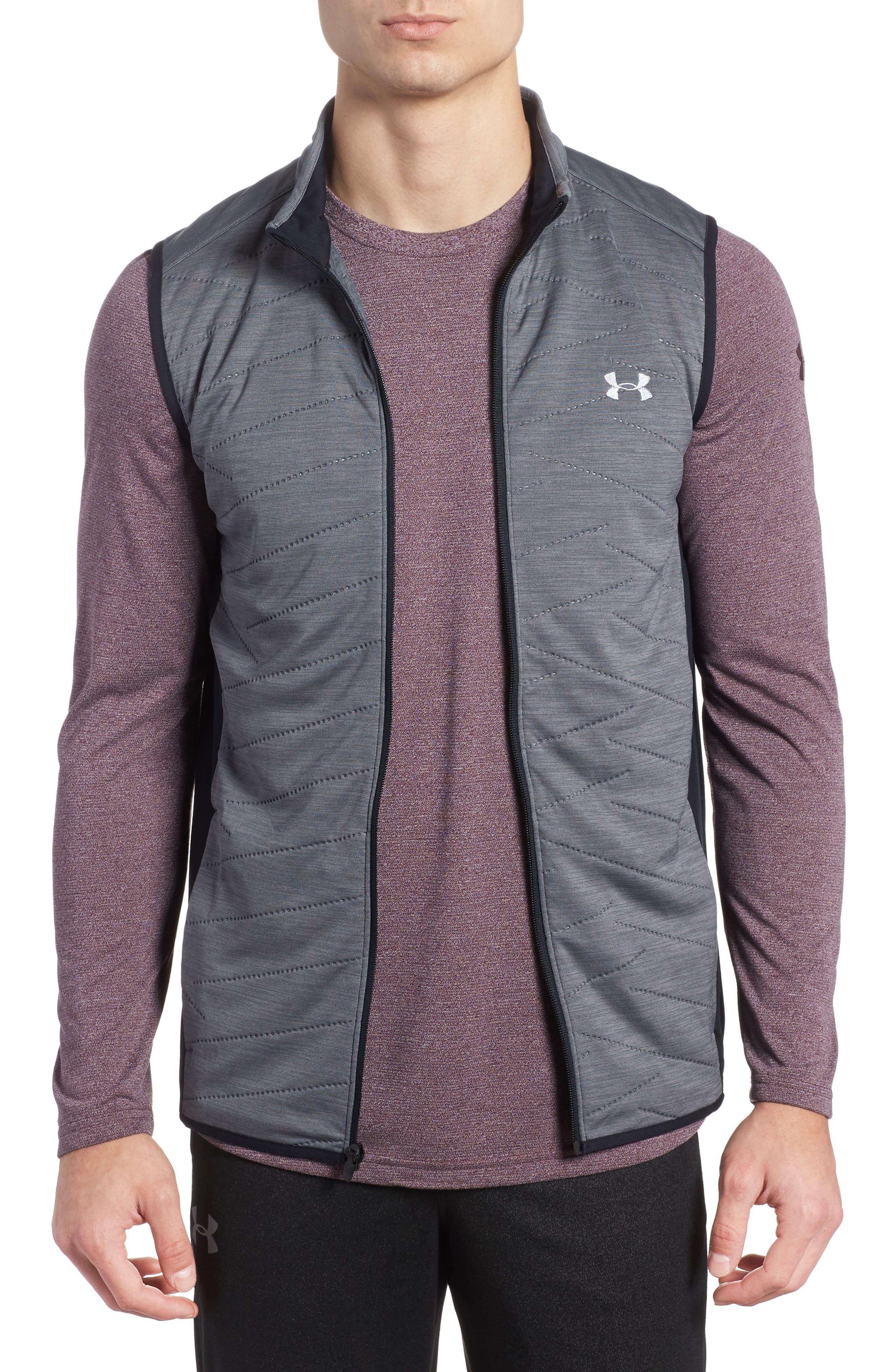 Reactor Hybrid Zip Vest,                         Main,                         color, Rhino Grey / Black / Grey