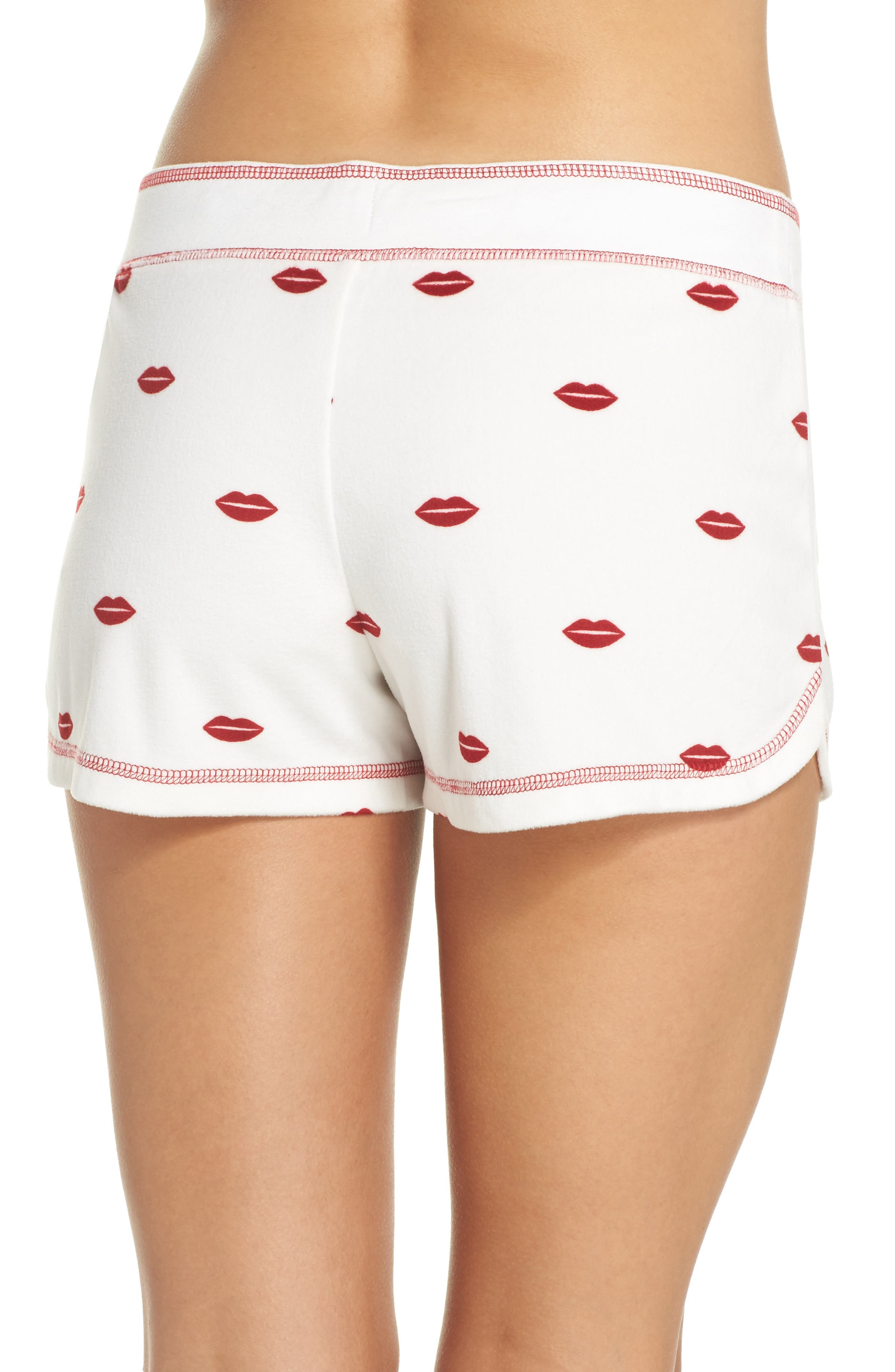 Alternate Image 2  - PJ Salvage Lip Lounge Shorts