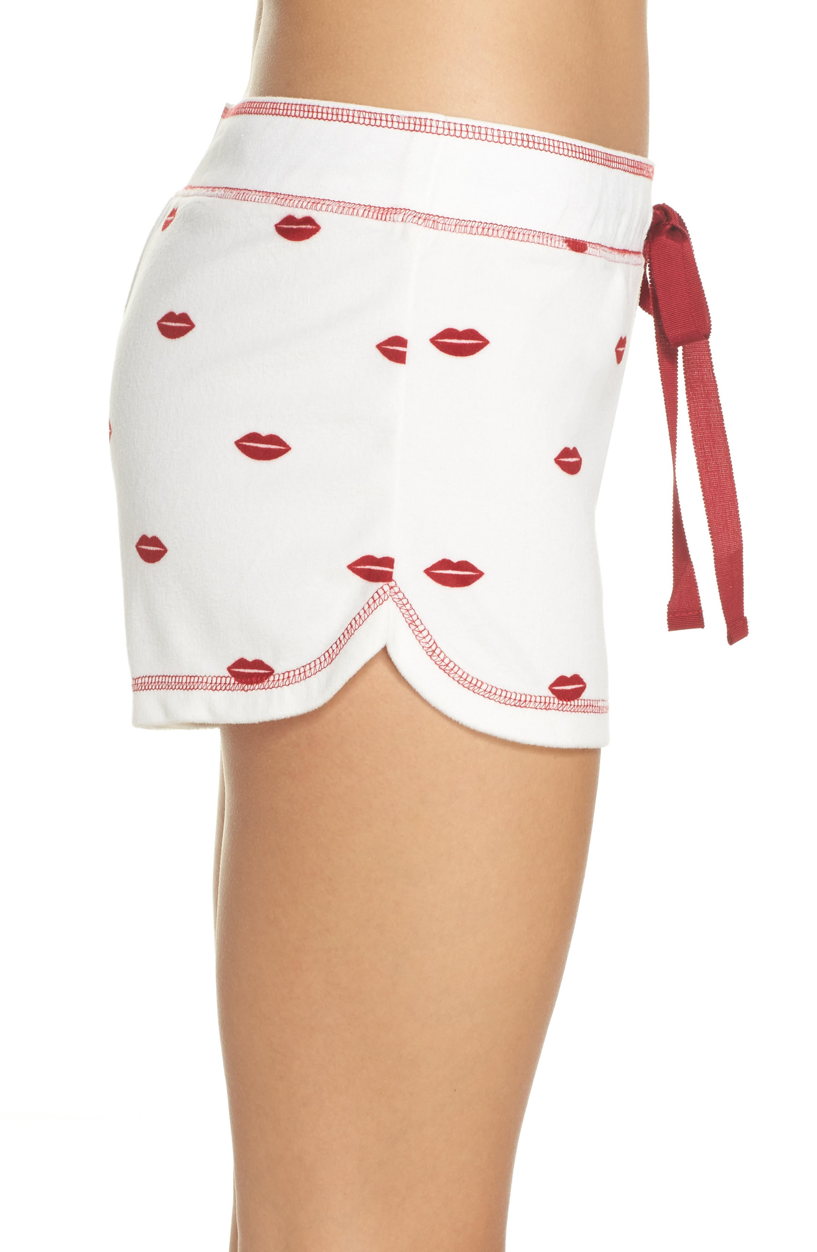 Alternate Image 3  - PJ Salvage Lip Lounge Shorts