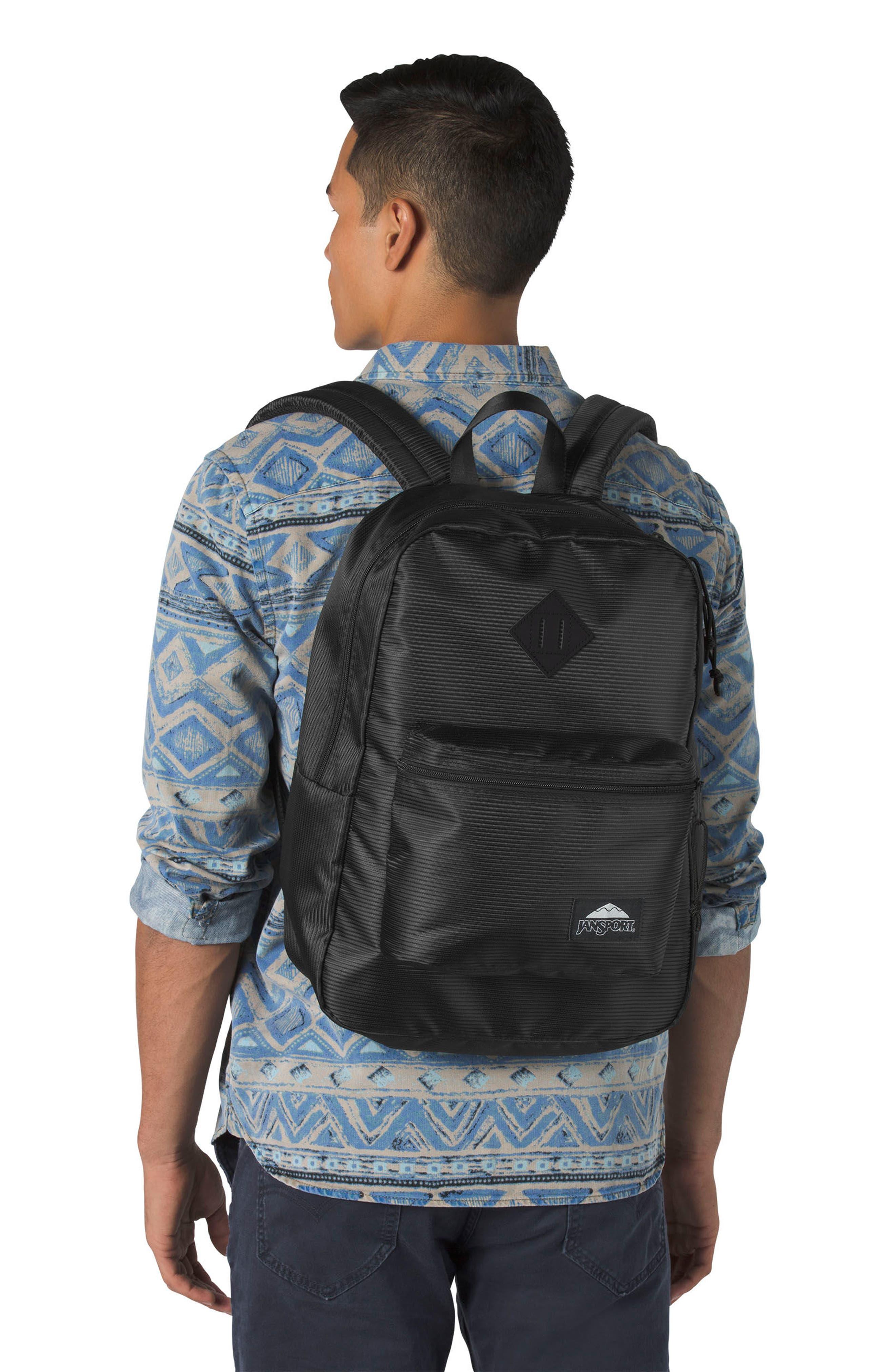 Super FX DL Backpack,                             Alternate thumbnail 2, color,                             Black Line