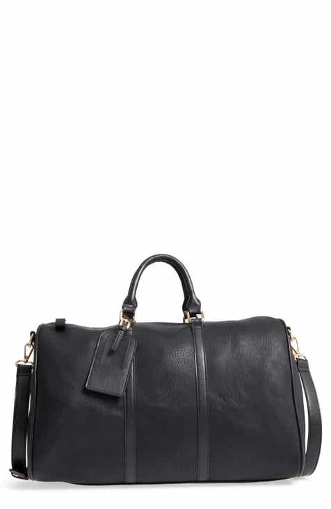 303c3854174 Sole Society Cassidy Faux Leather Duffle Bag