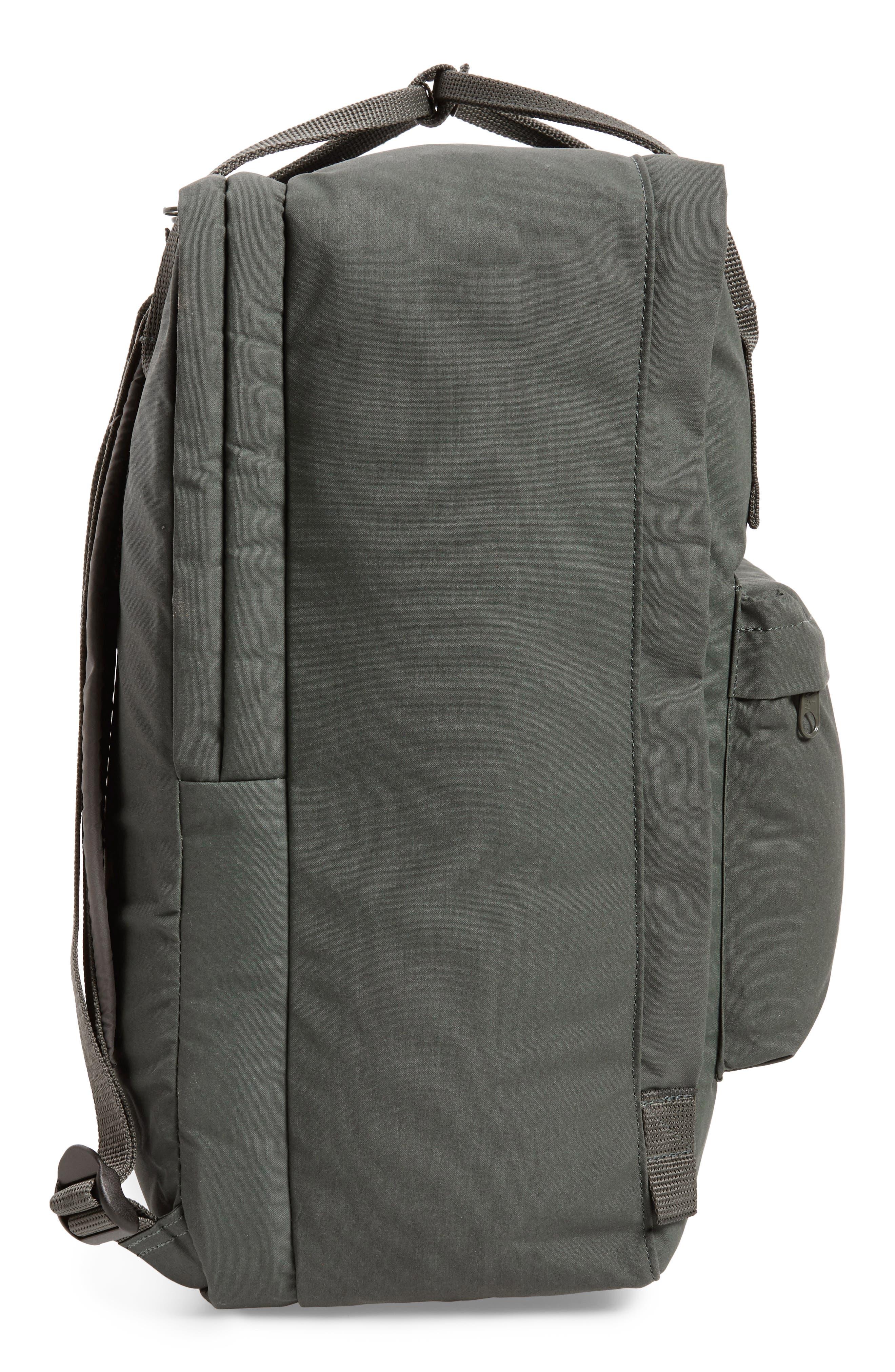 'Kånken' Laptop Backpack,                             Alternate thumbnail 5, color,                             Forest Green