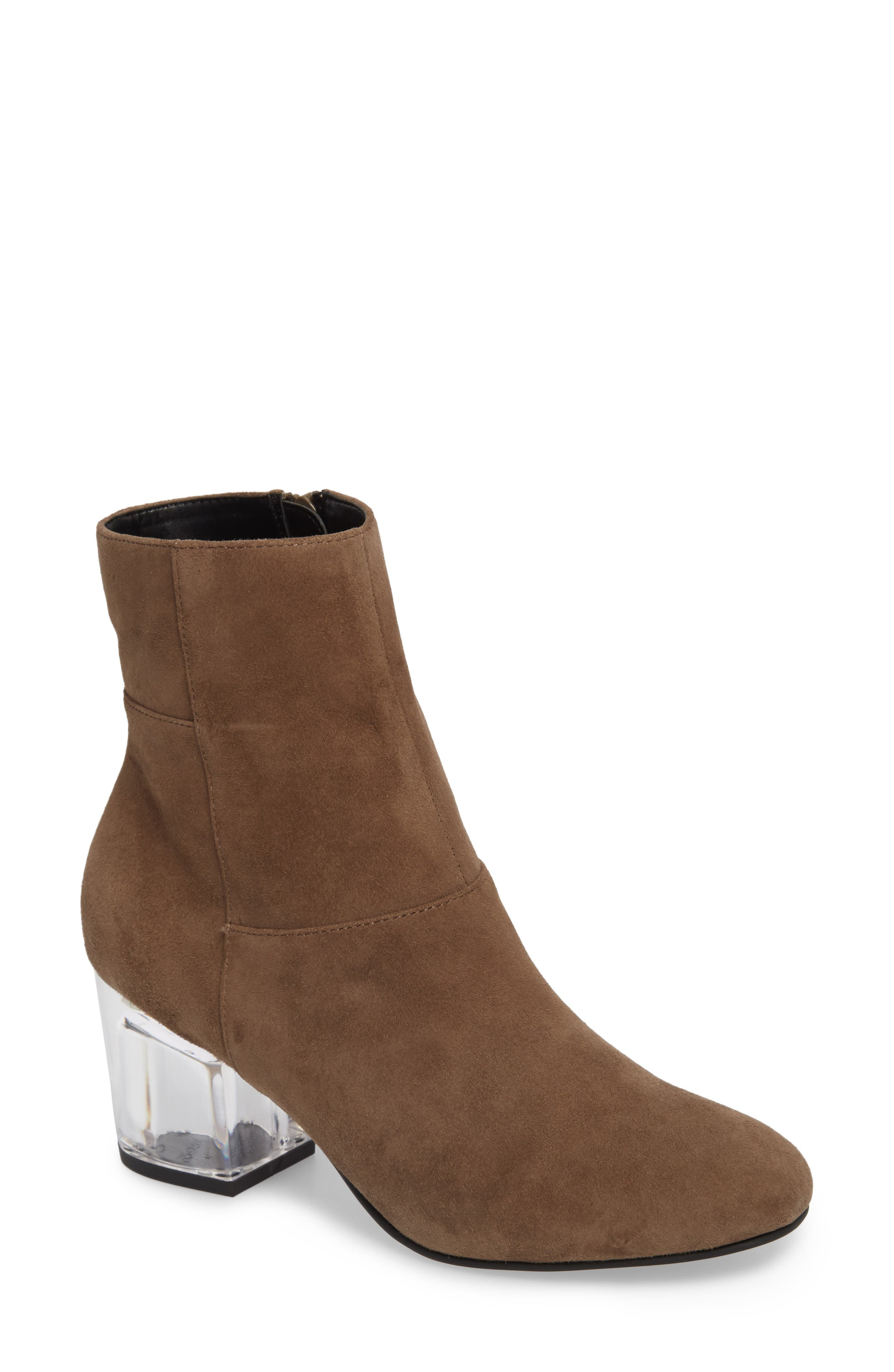 Dinah Bootie,                             Main thumbnail 1, color,                             Night Taupe