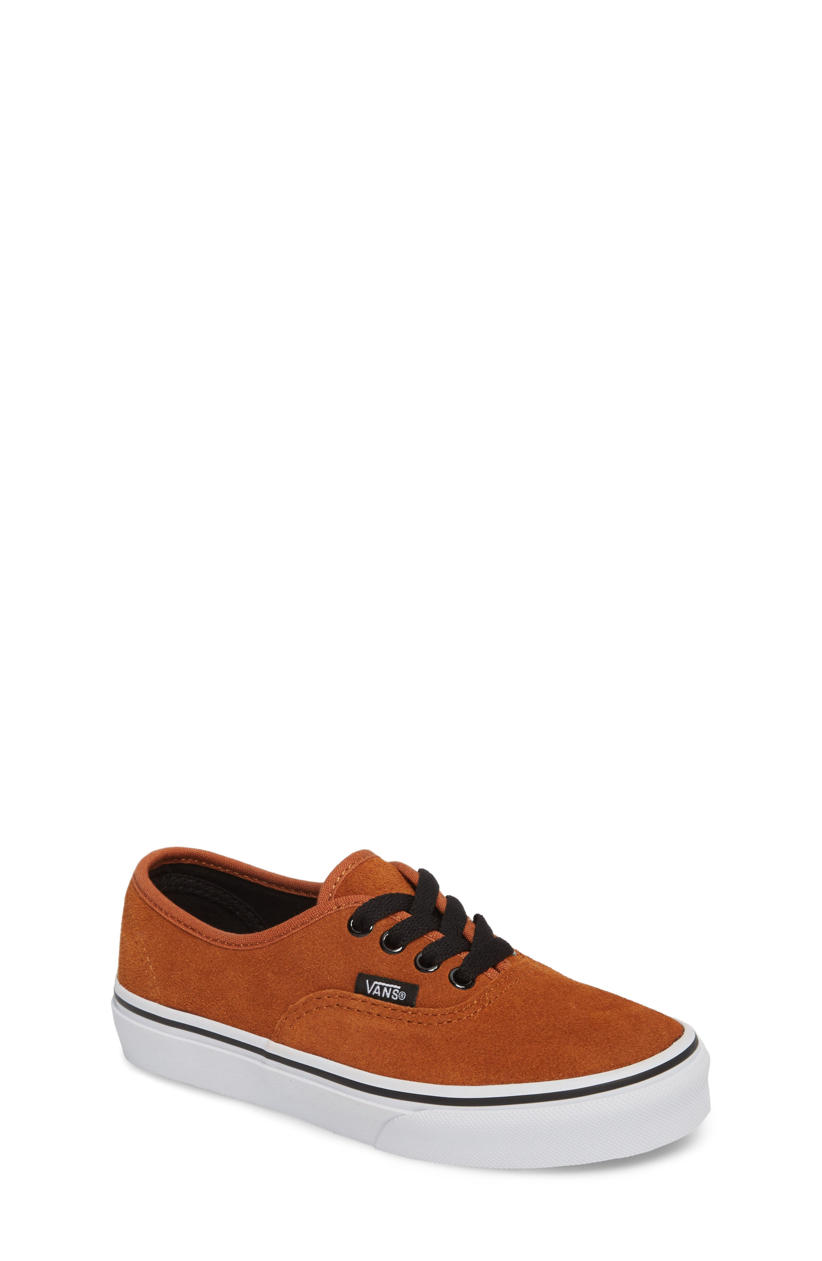 Authentic Sneaker,                         Main,                         color, Glazed Ginger/ Black