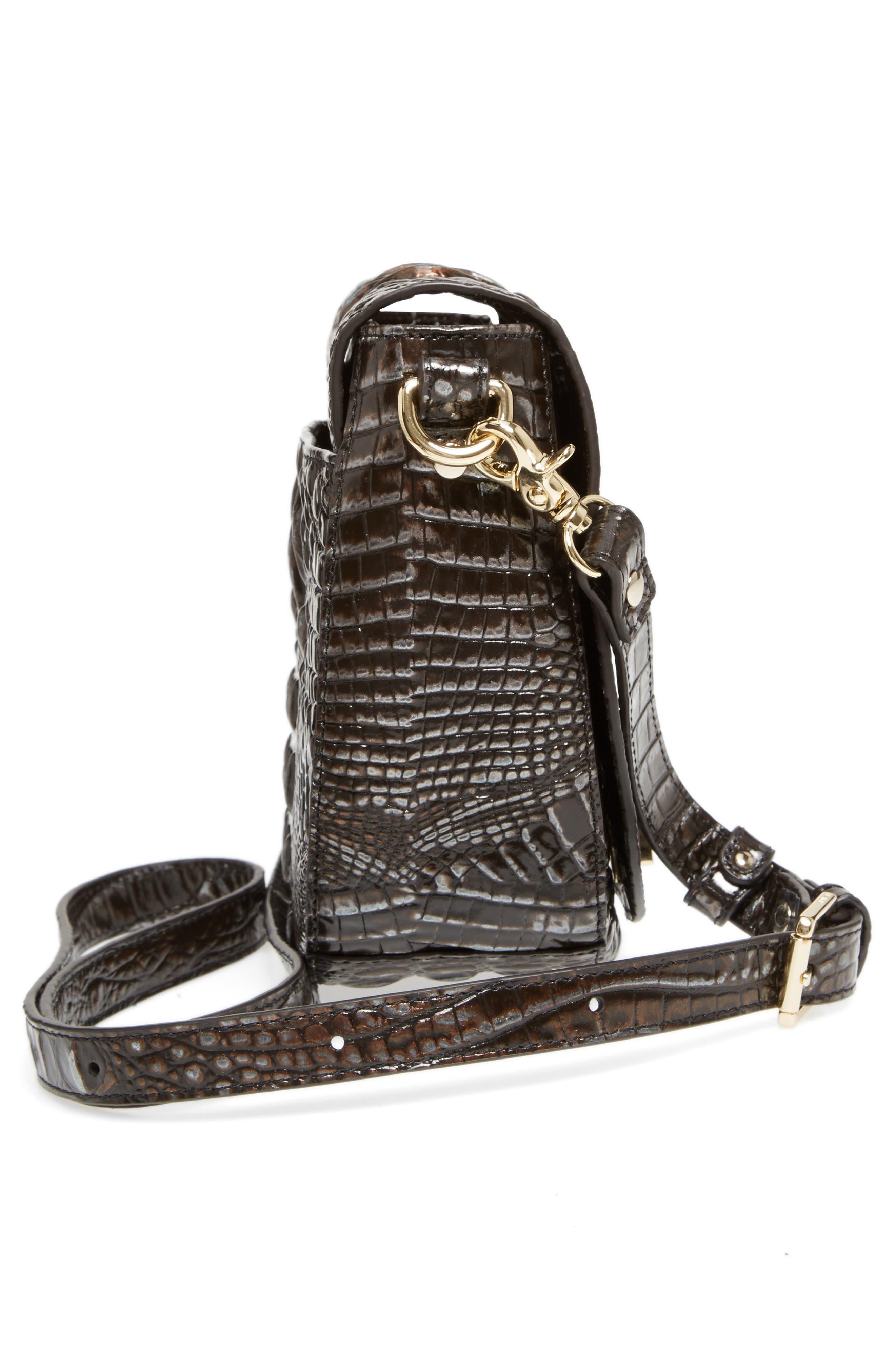 Alternate Image 5  - Brahmin Mini Sonny Leather Crossbody Bag
