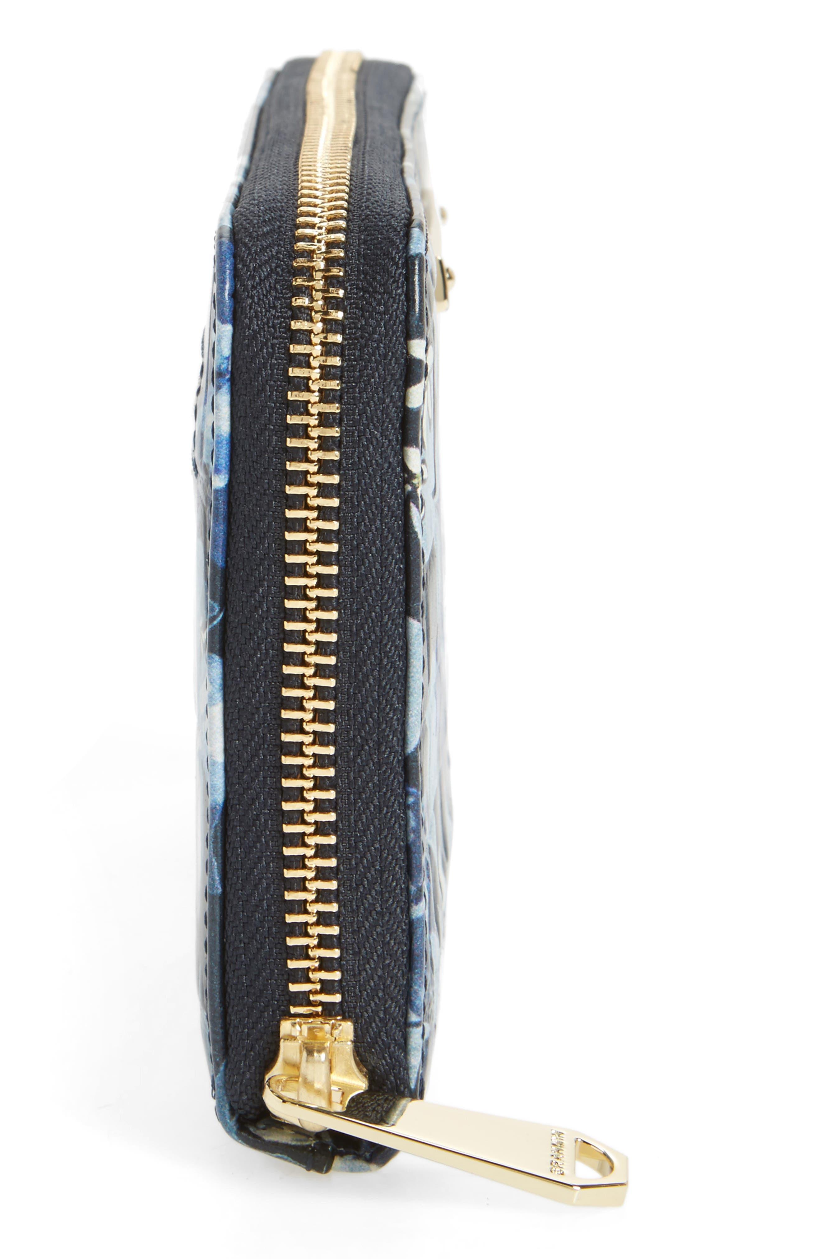 Alternate Image 5  - Brahmin Suri Leather Zip Around Wallet