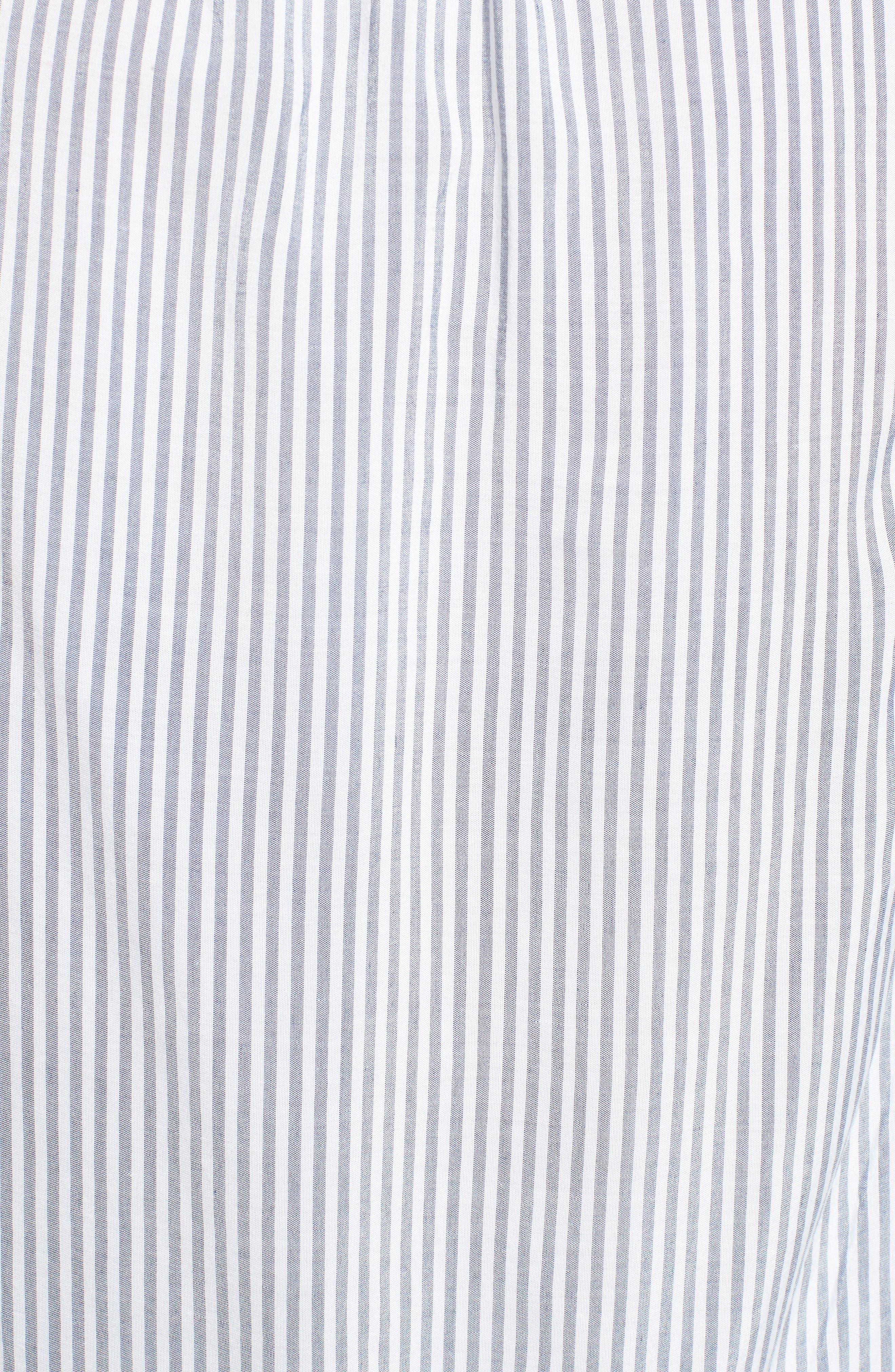 Tassel Shirt,                             Alternate thumbnail 5, color,                             Med Wash