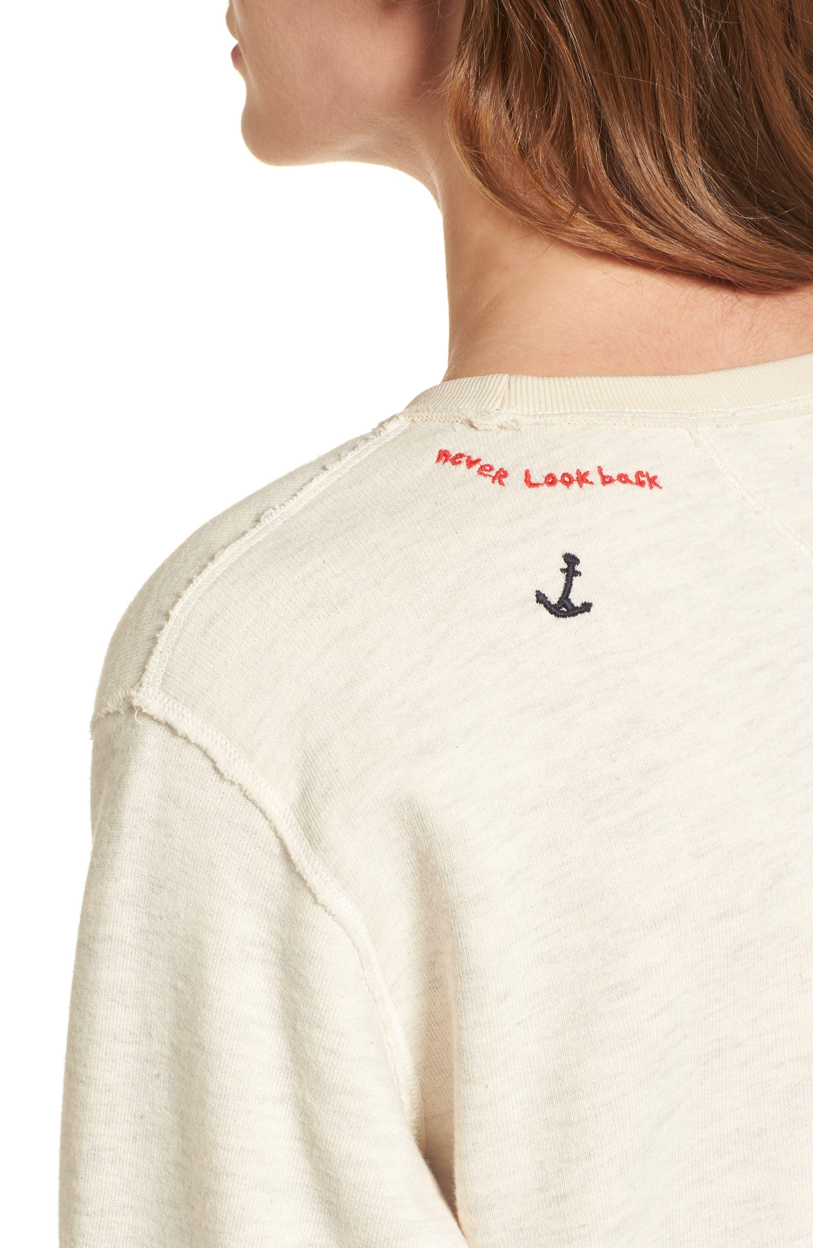 Alternate Image 4  - Scotch & Soda Nautical Sweatshirt