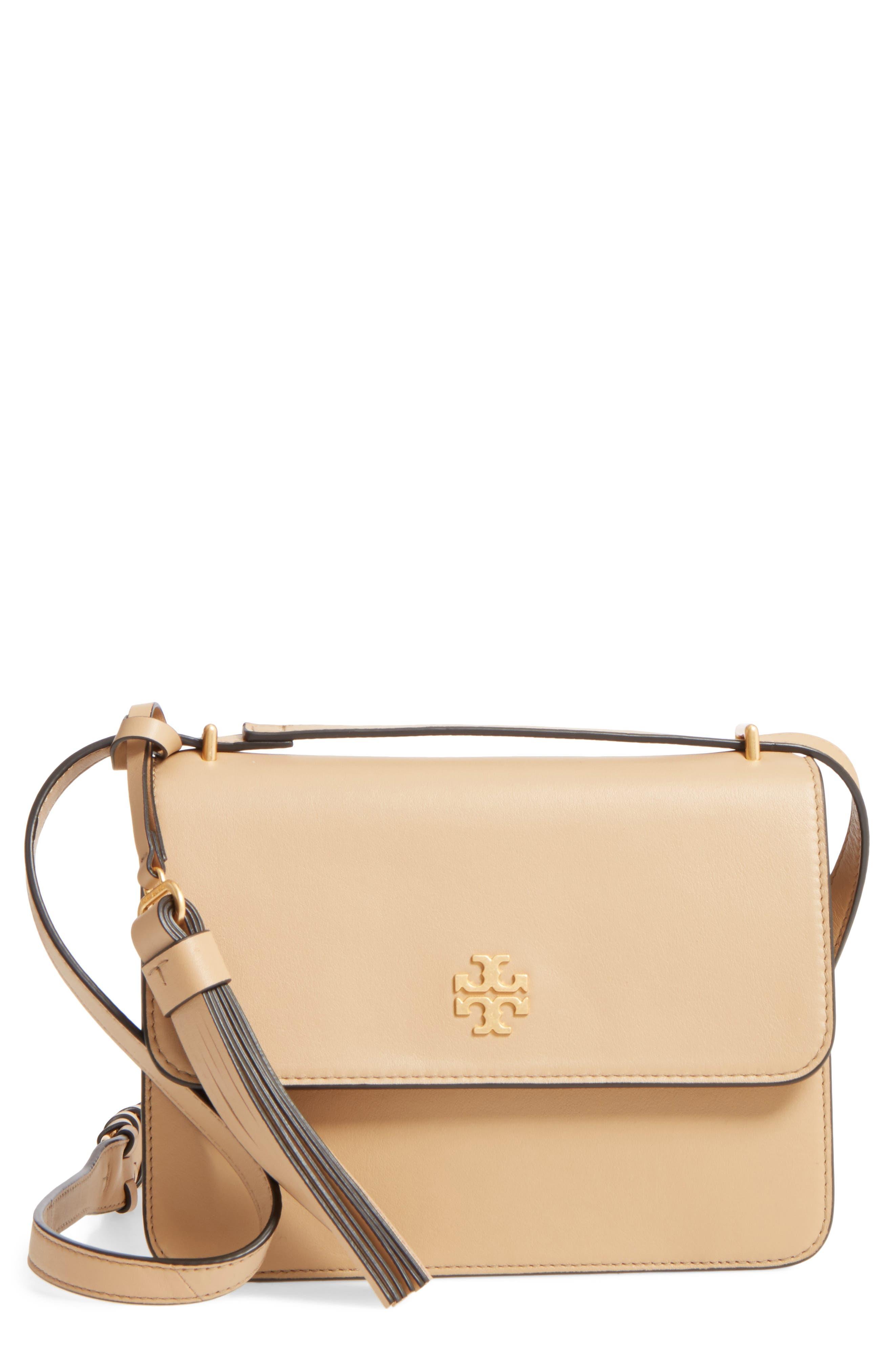 Tory Burch Brooke Leather Crossbody Bag