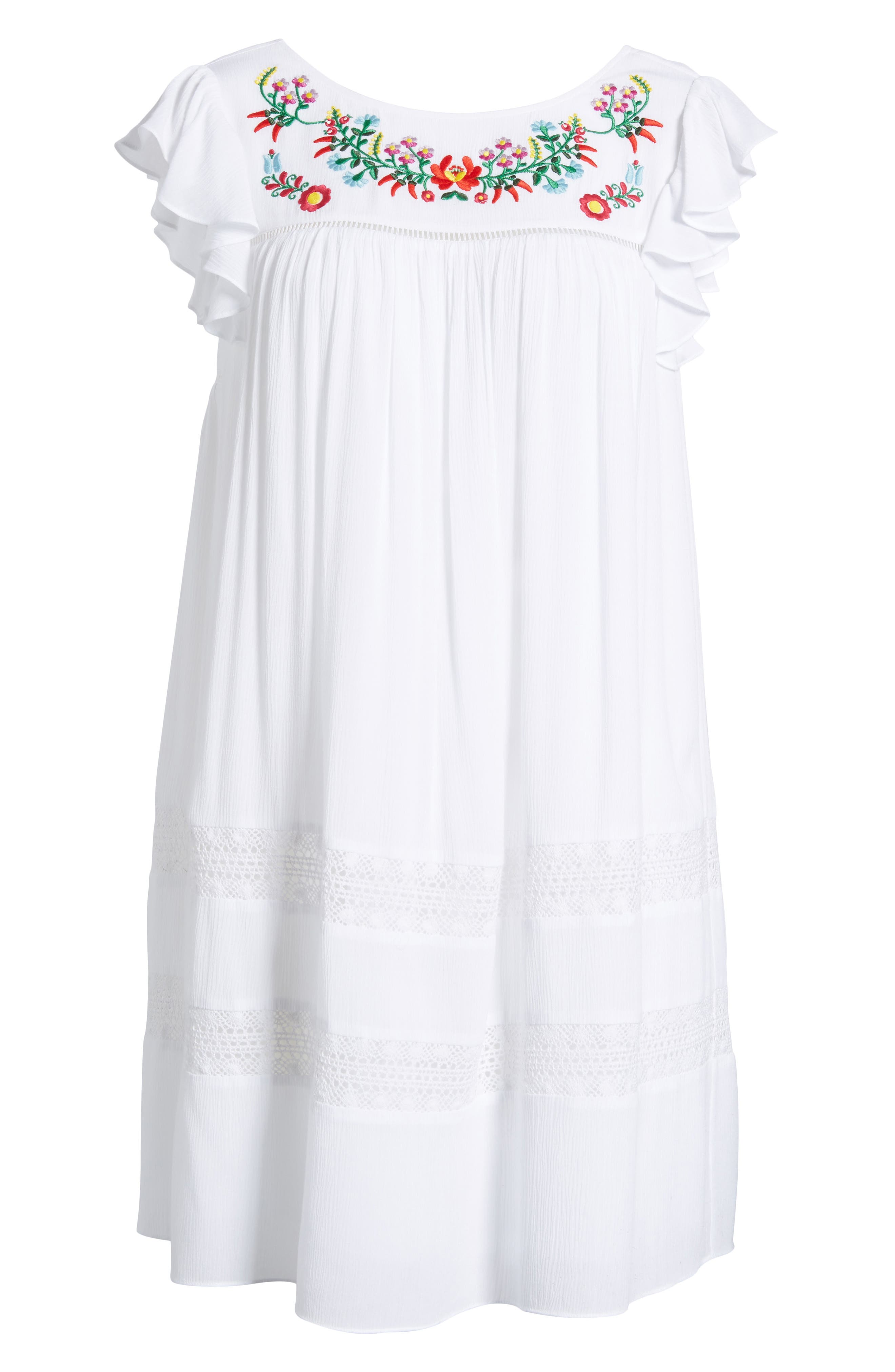 Boca Dress,                             Alternate thumbnail 6, color,                             White
