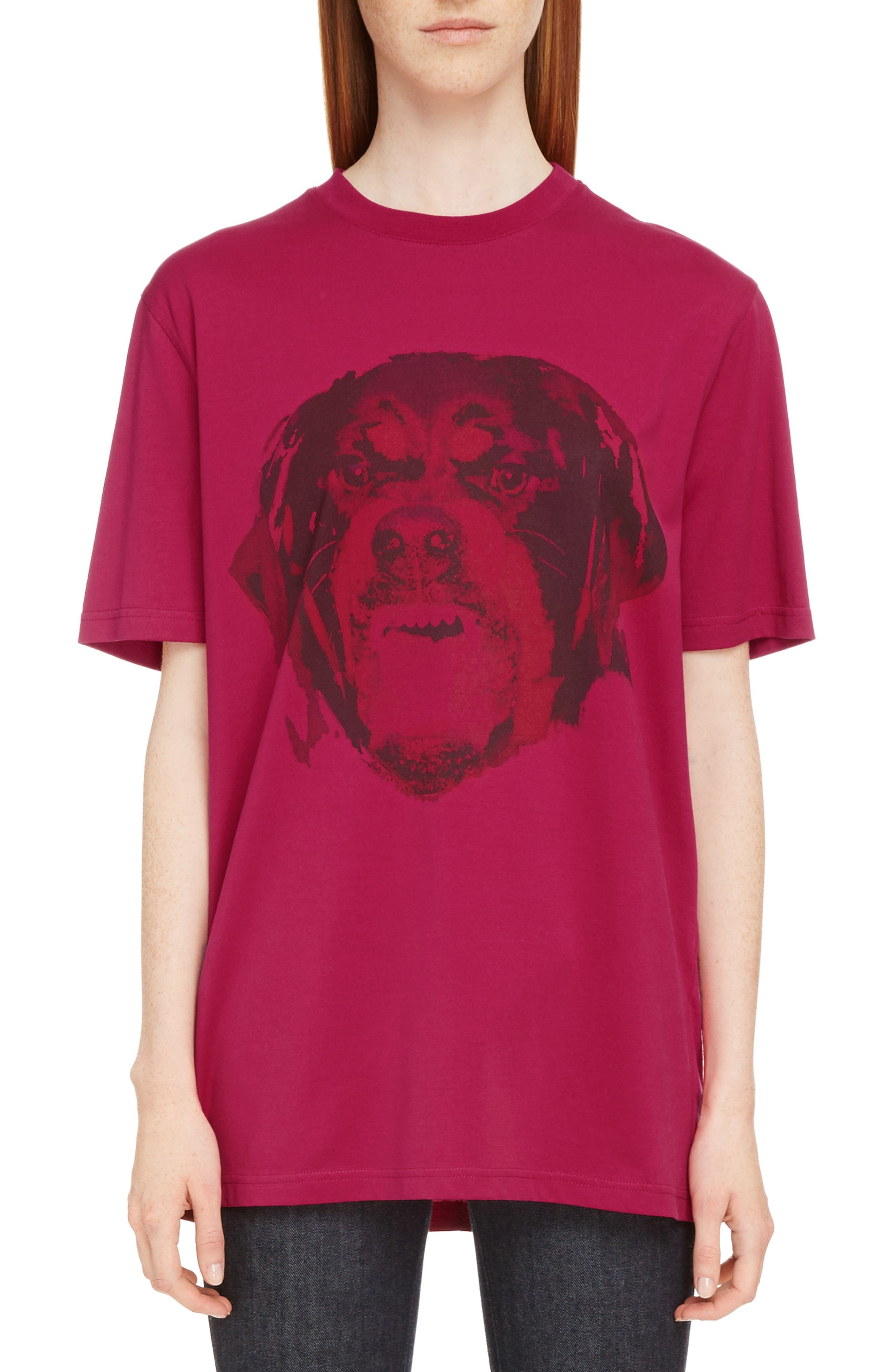 Alternate Image 1 Selected - Givenchy Rottweiler Print Tee