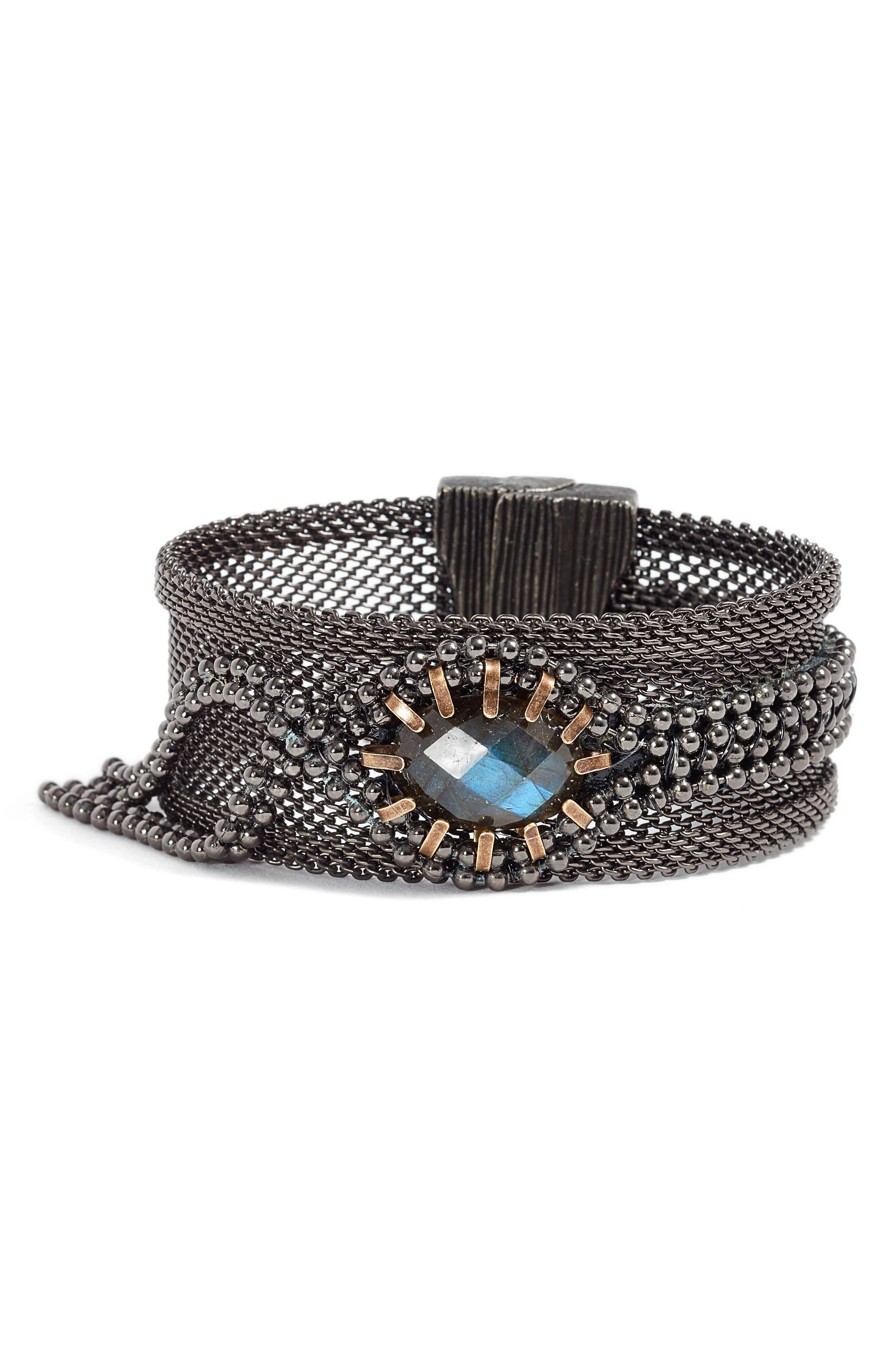 Alternate Image 1 Selected - Cynthia Desser Labradorite Bracelet