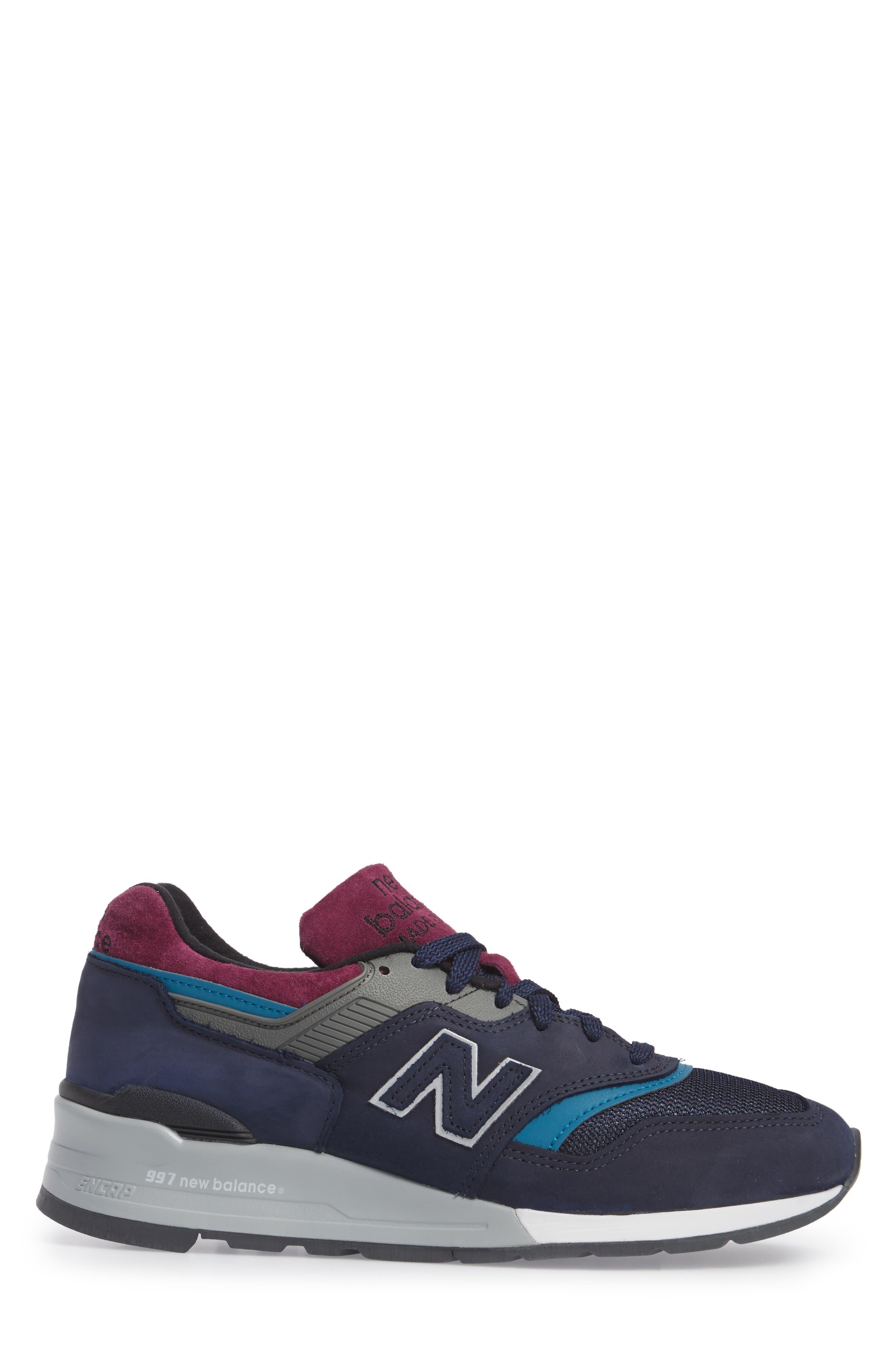 Alternate Image 3  - New Balance 997 Sneaker (Men)